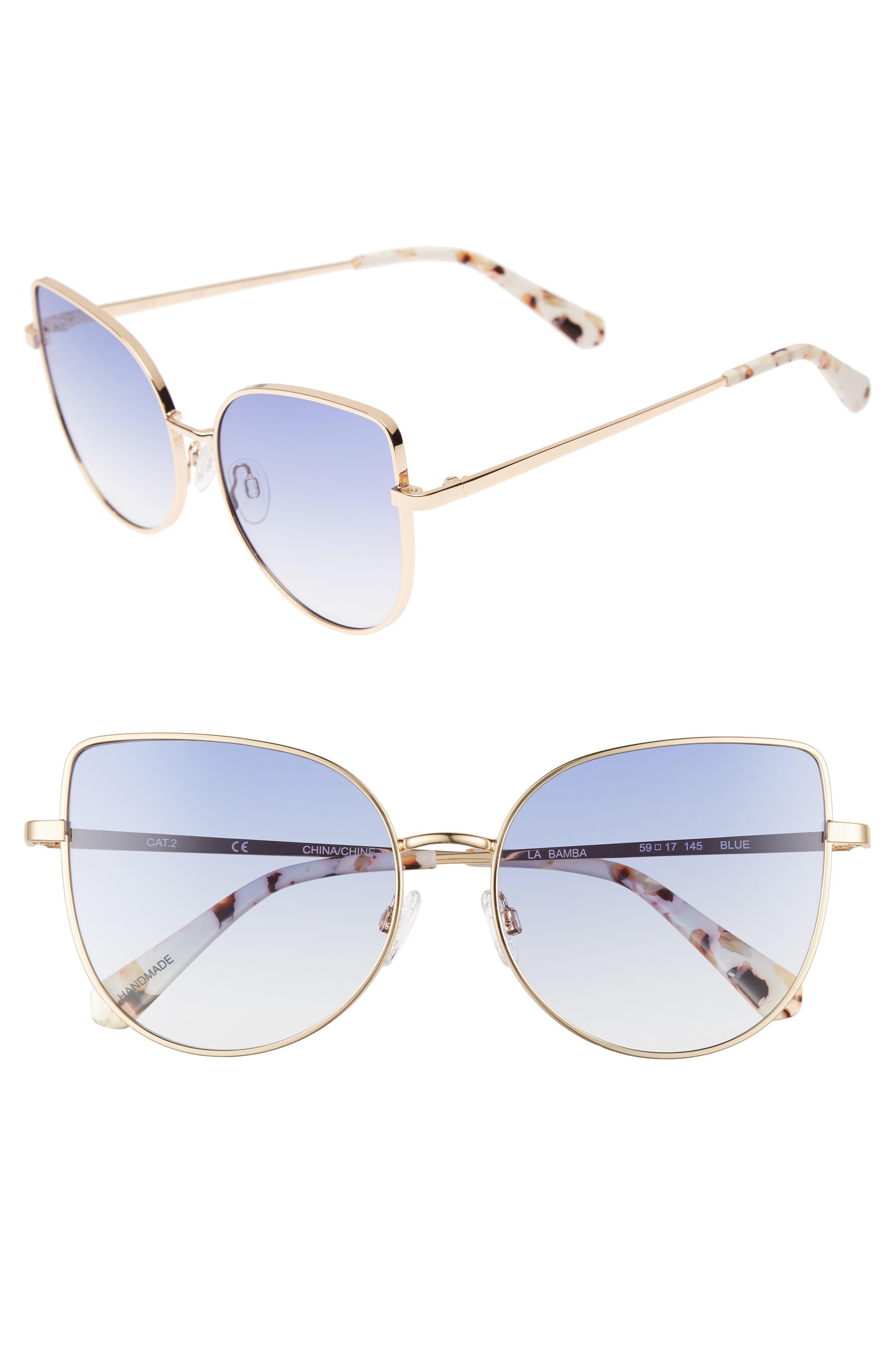 CHELSEA28,                             La Bamba 59mm Sunglasses,                             Main thumbnail 1, color,                             420