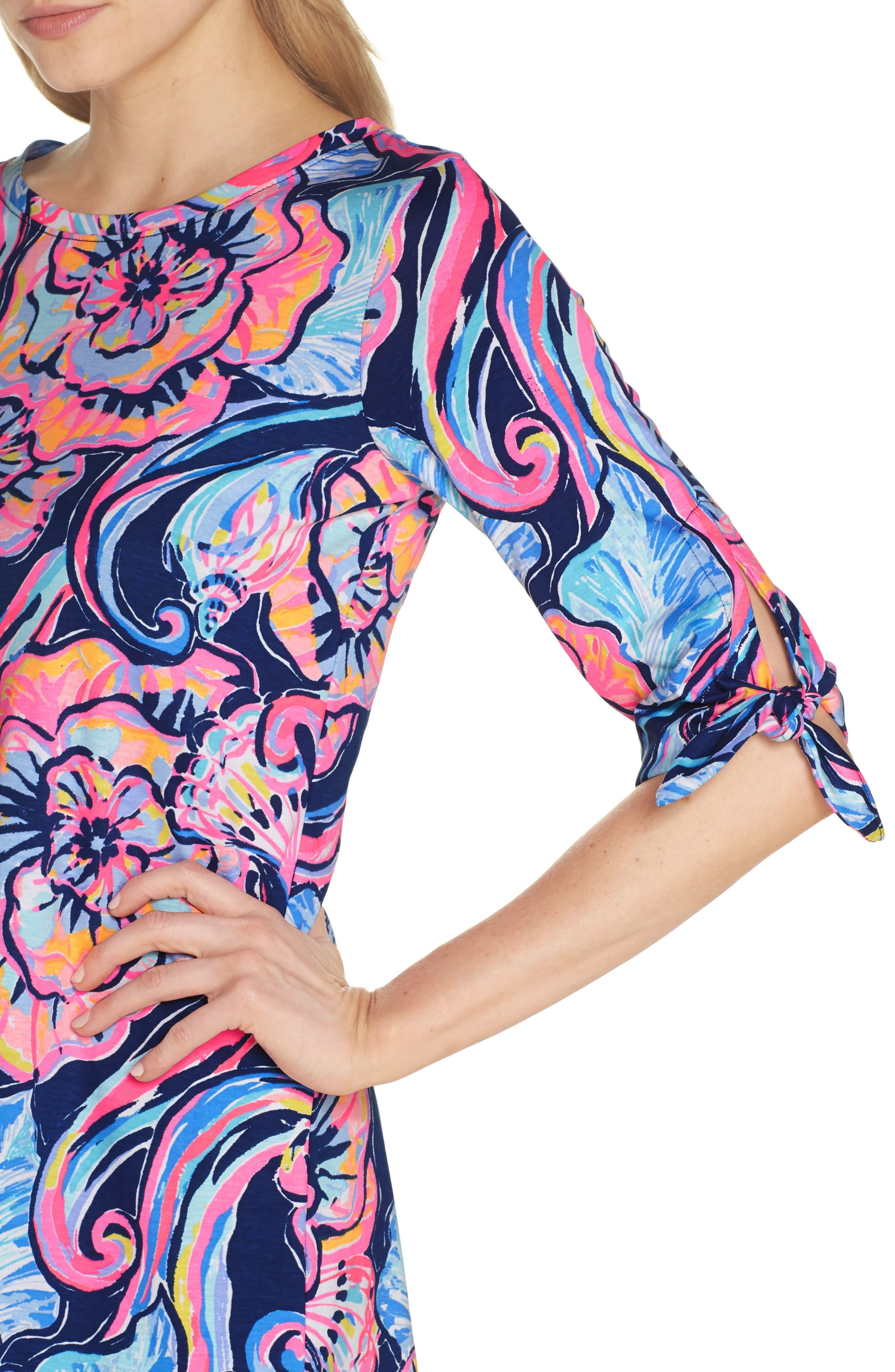 Preston Shift Dress,                             Alternate thumbnail 4, color,                             475