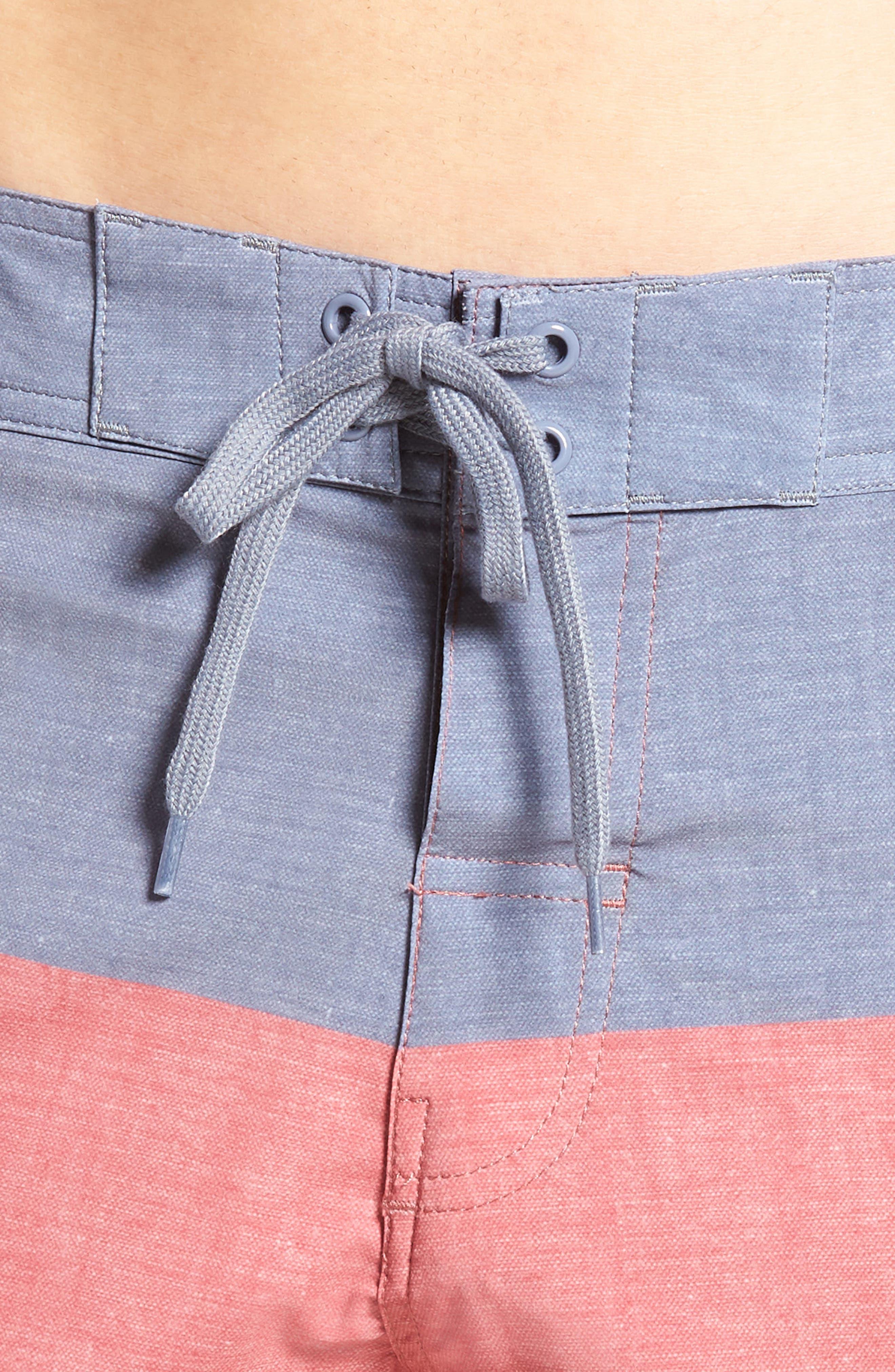 Seegrid Regular Fit Board Shorts,                             Alternate thumbnail 8, color,