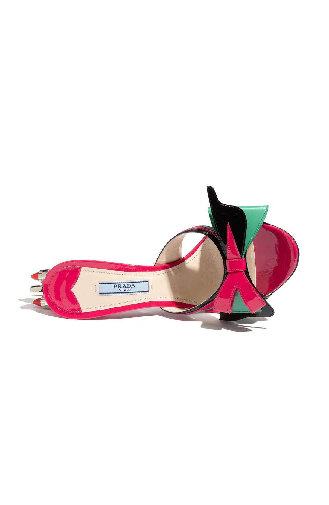 Bow Tail Light Slide Sandal,                             Alternate thumbnail 4, color,                             650