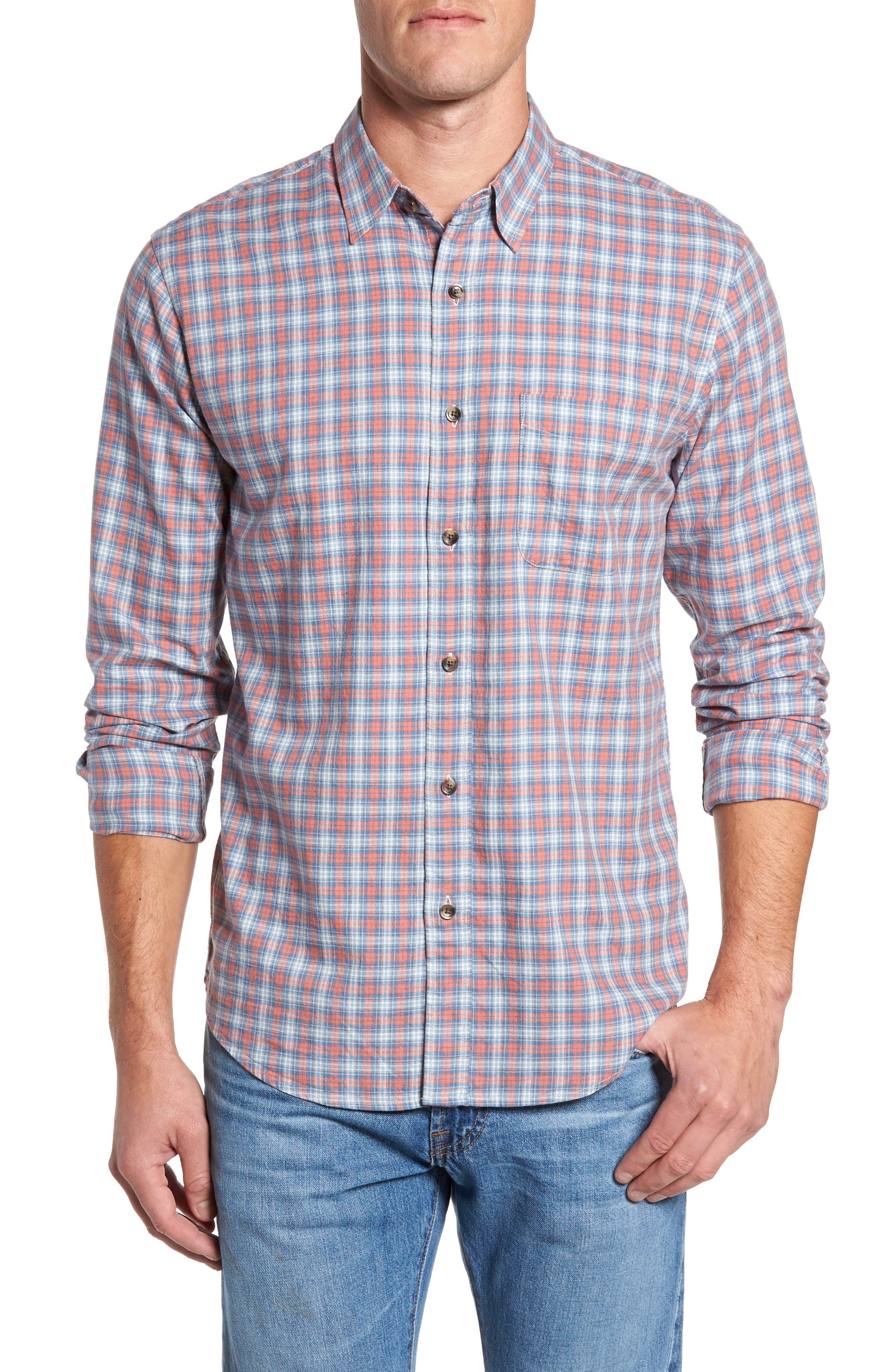 Check Sport Shirt,                             Main thumbnail 1, color,                             814