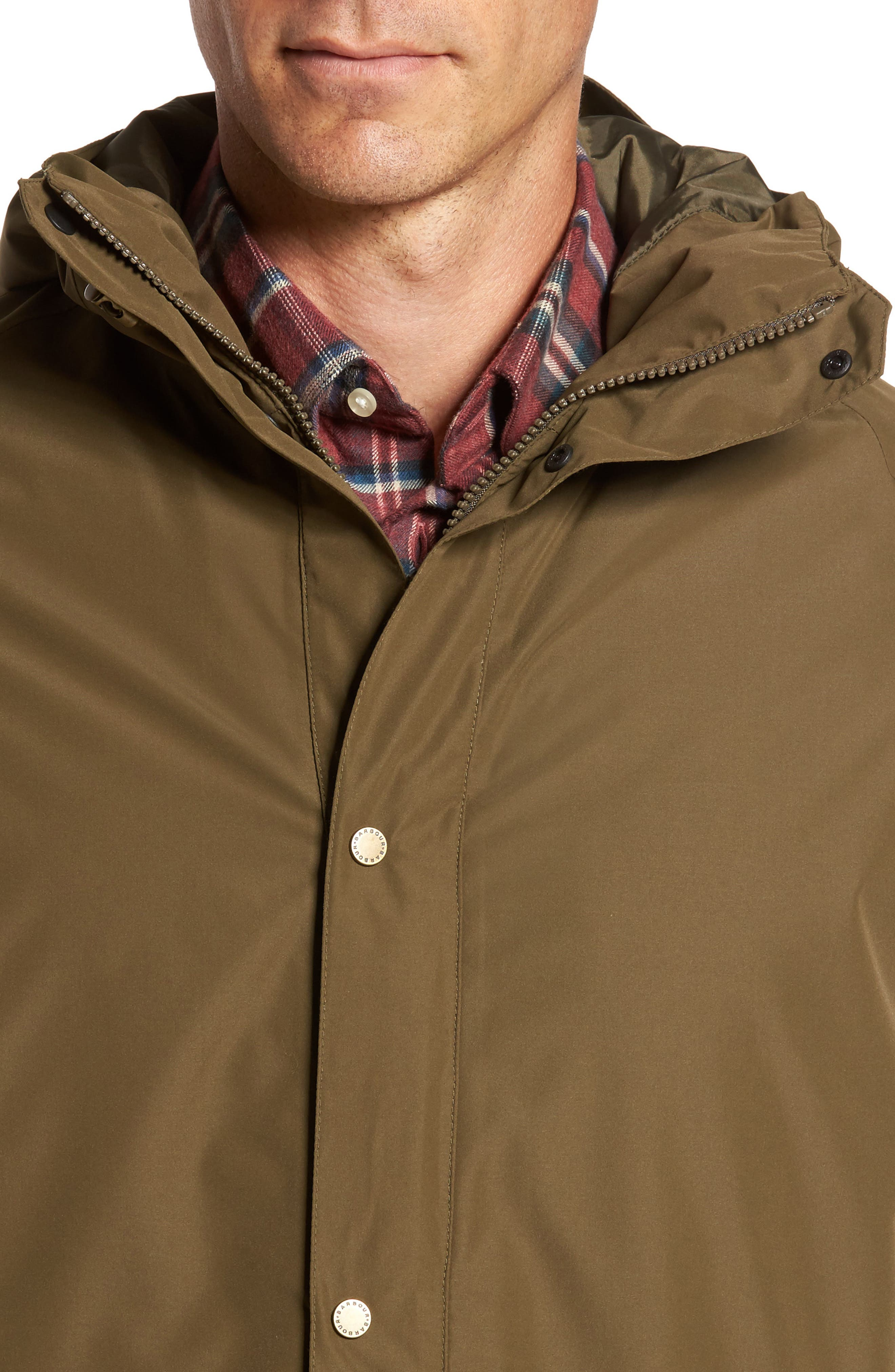 Rydal Waterproof Hooded Jacket,                             Alternate thumbnail 4, color,                             340