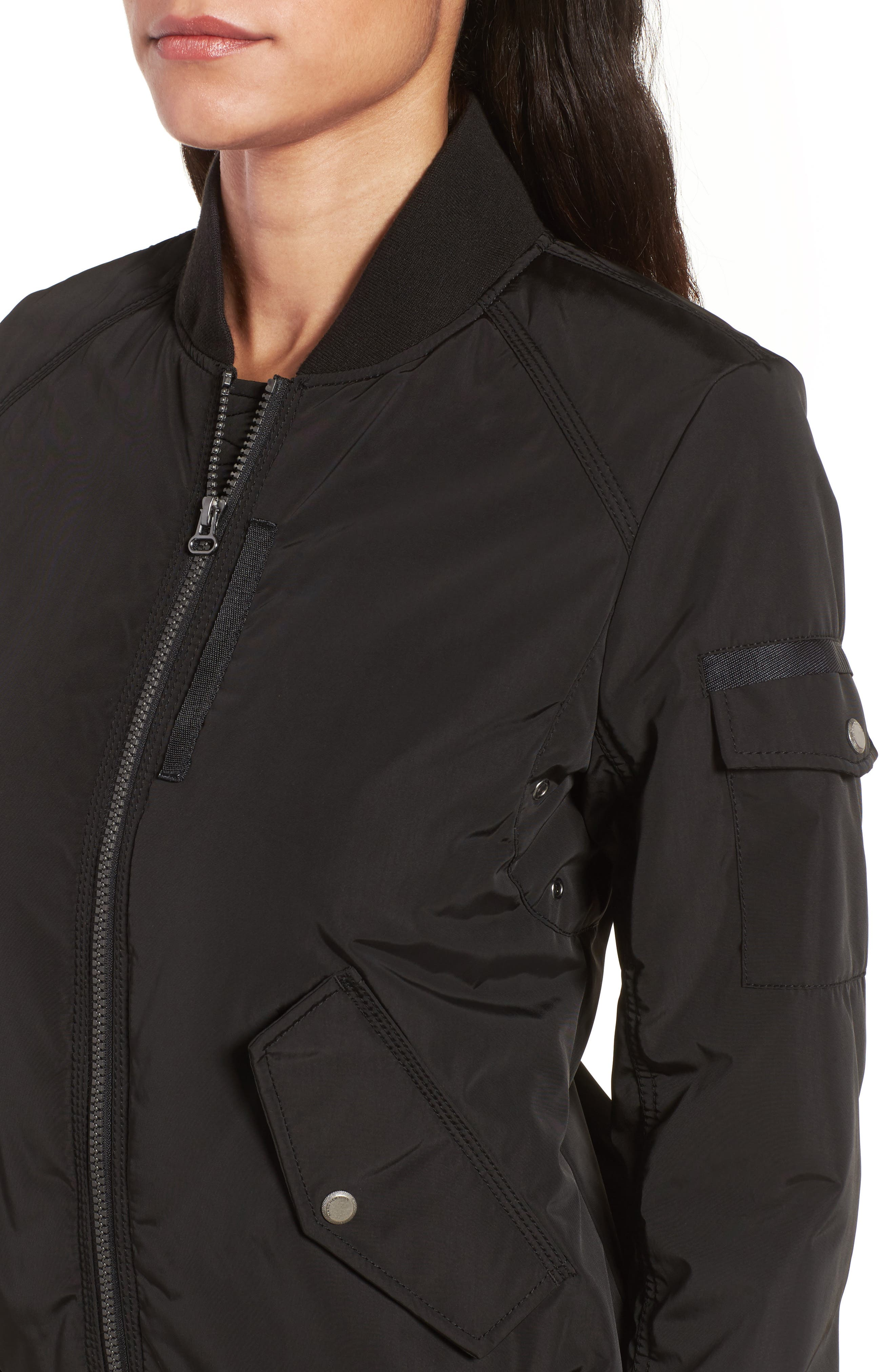 Foster Nylon Twill Bomber Jacket,                             Alternate thumbnail 14, color,