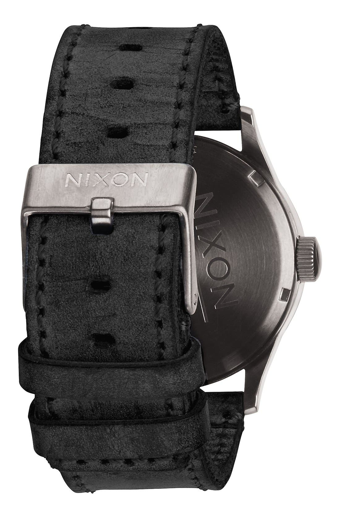 The Sentry Leather Strap Watch, 42mm,                             Alternate thumbnail 71, color,