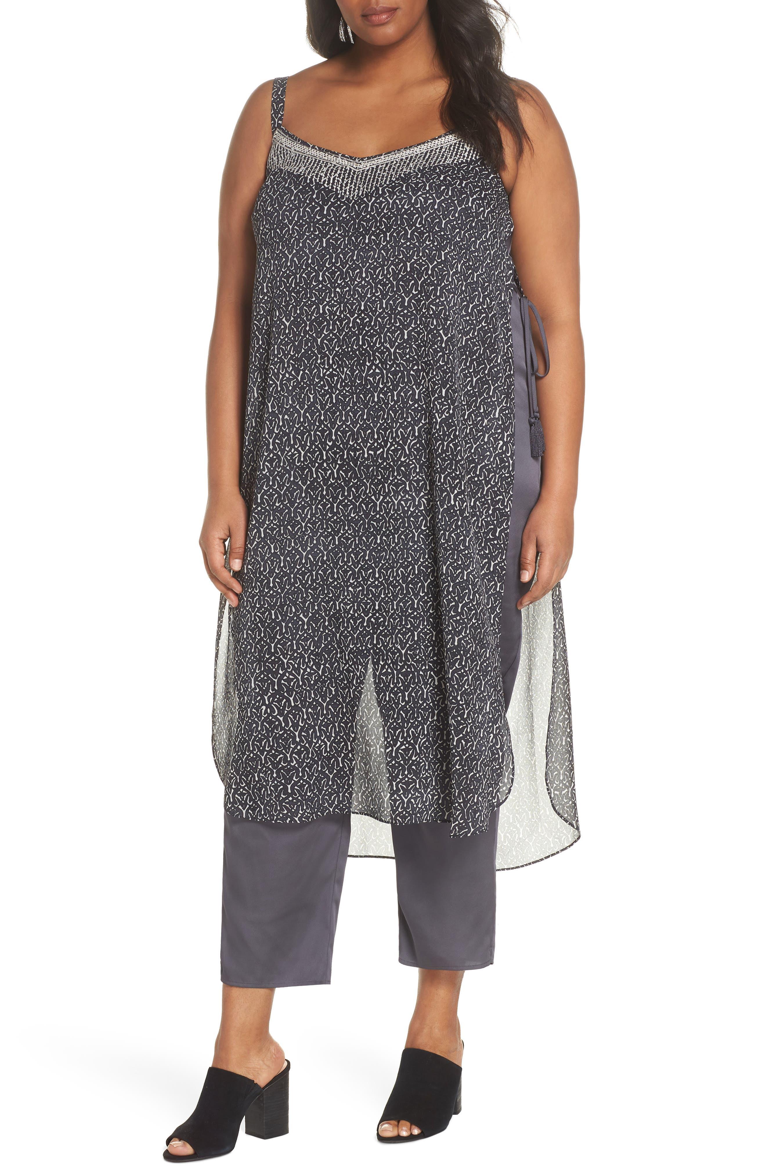 NIC+ZOE Casablanca Layered Jumpsuit, Main, color, 090
