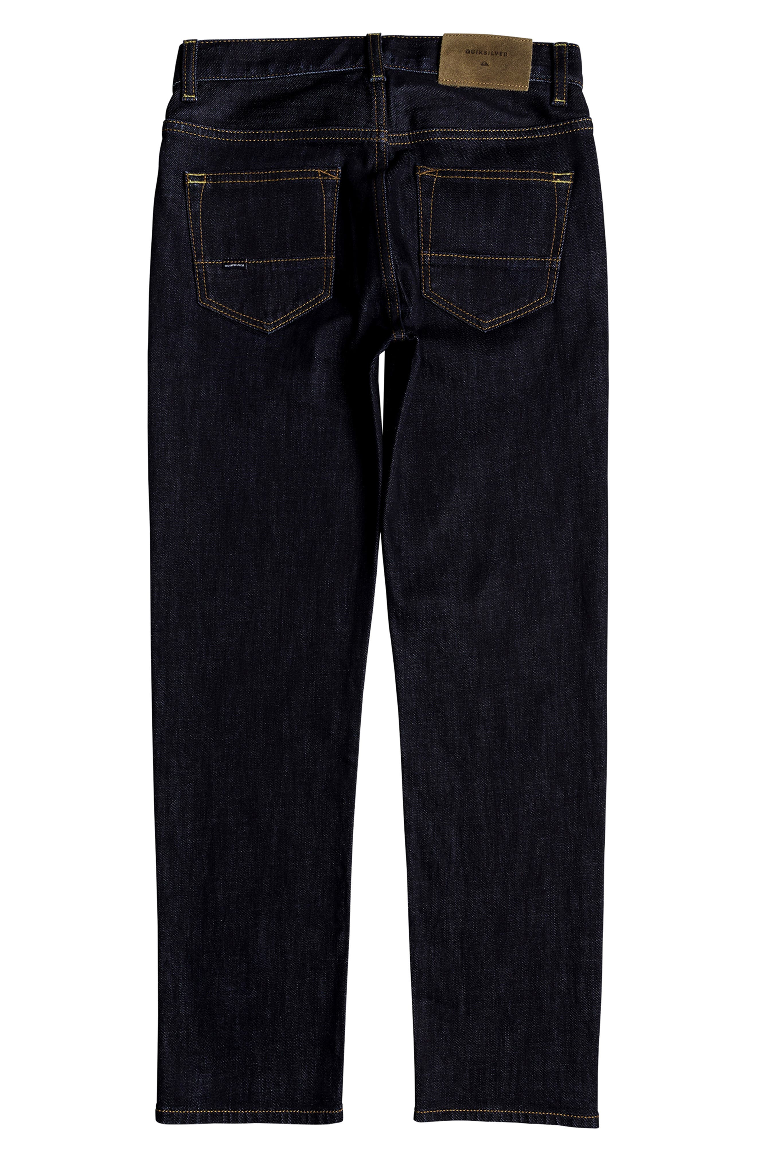 Sequel Straight Leg Jeans,                             Alternate thumbnail 2, color,                             RINSE