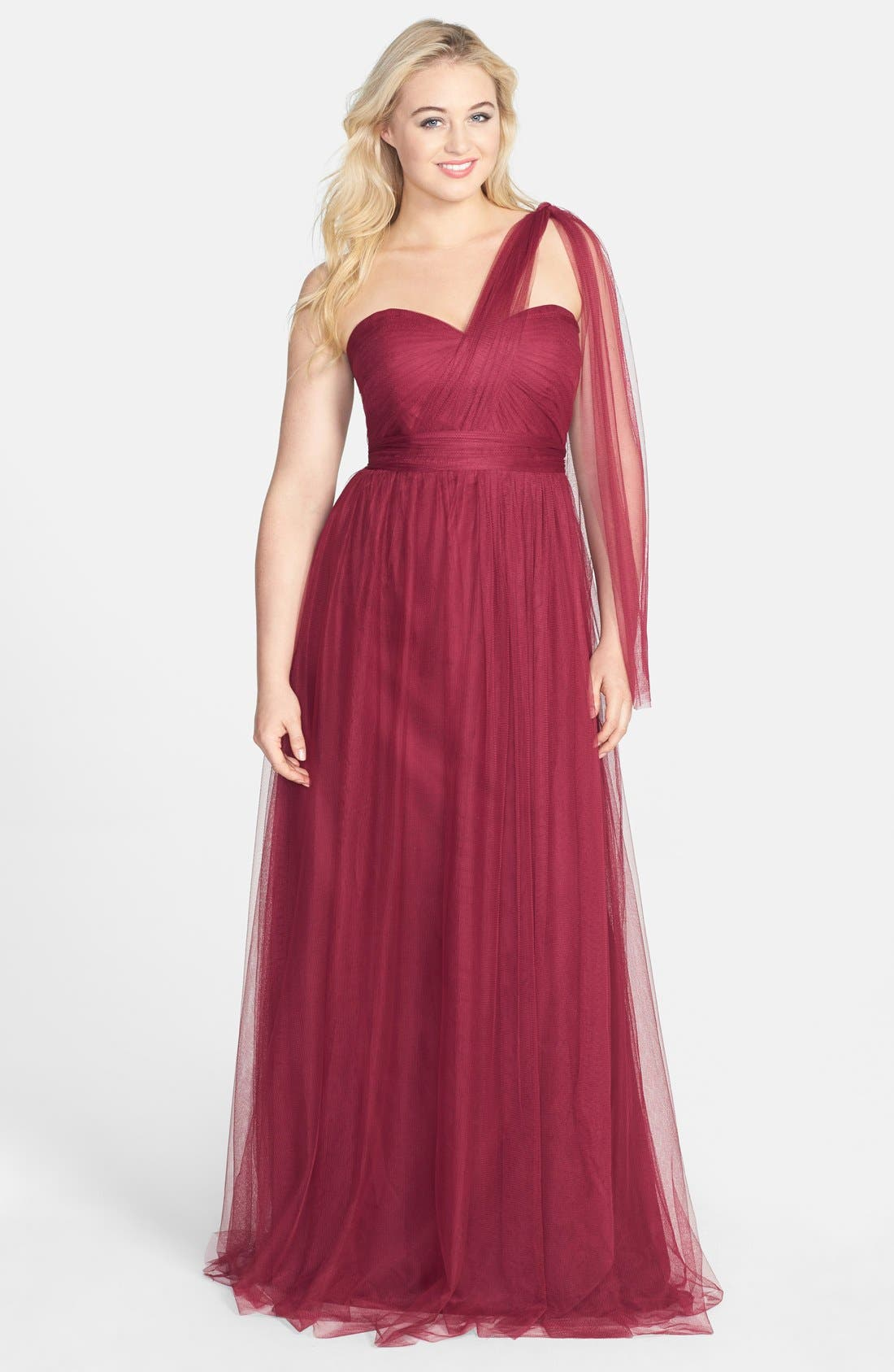 Annabelle Convertible Tulle Column Dress,                             Alternate thumbnail 89, color,