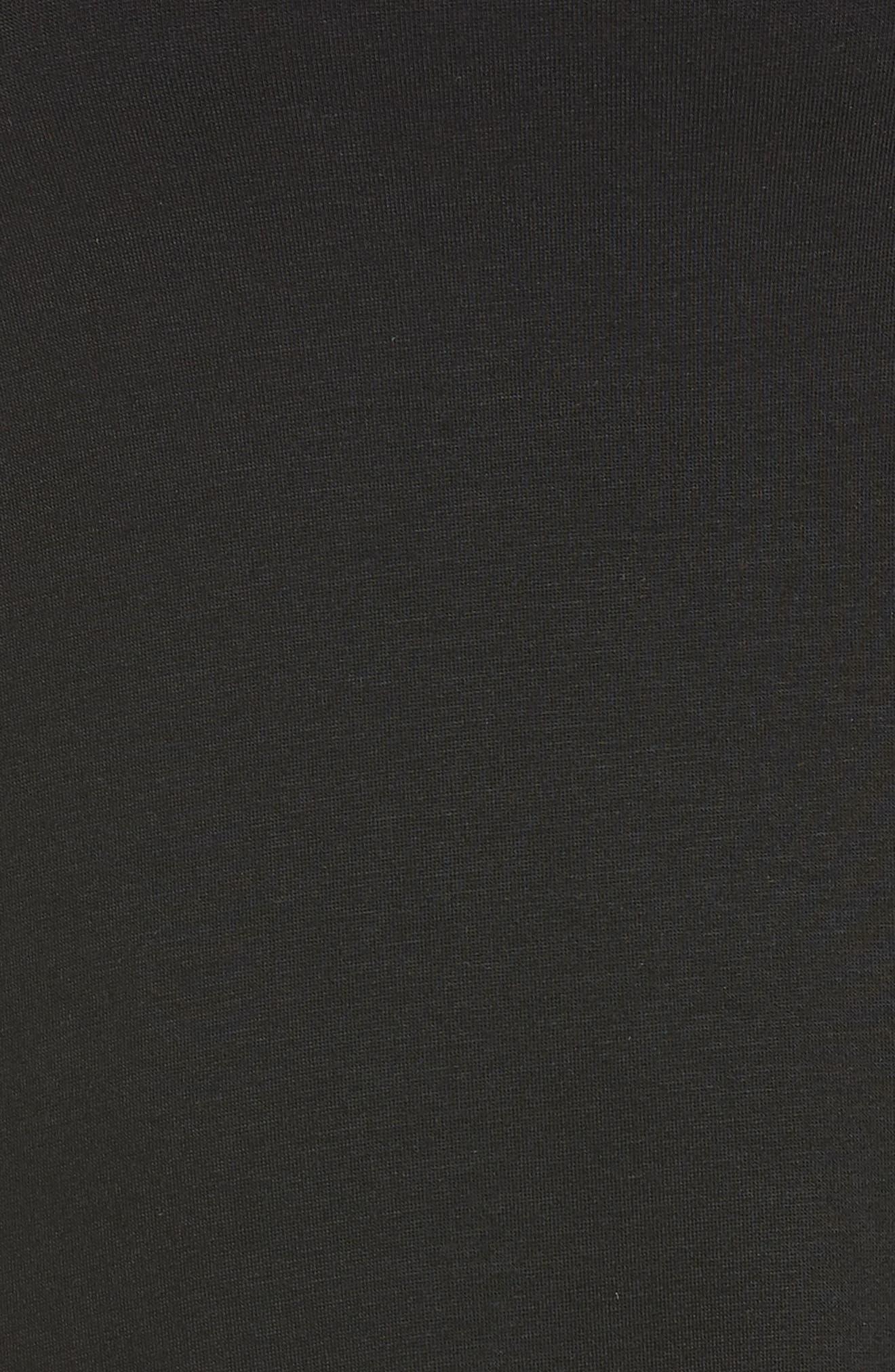 Slink It Boxy Pullover,                             Alternate thumbnail 6, color,                             BLACK