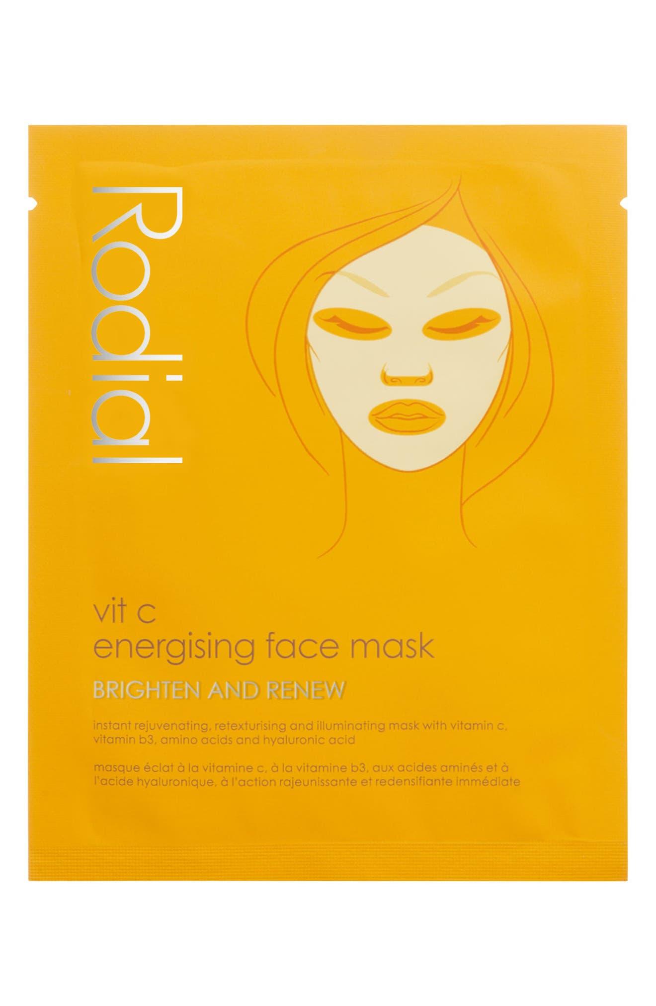 SPACE.NK.apothecary Rodial Vitamin C Energizing Face Mask,                             Main thumbnail 1, color,                             000