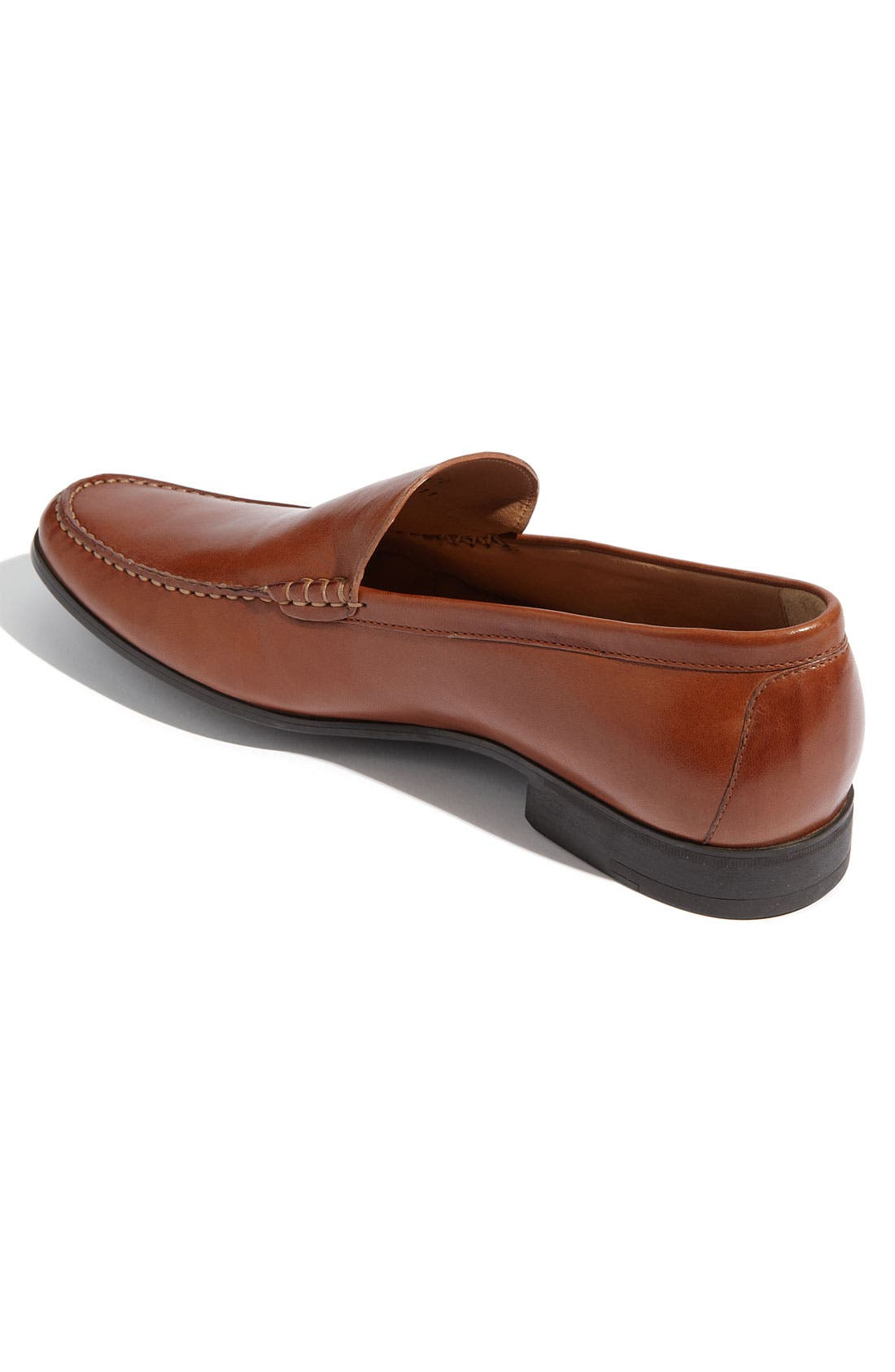 JOHNSTON & MURPHY,                             'Creswell' Venetian Slip-On,                             Alternate thumbnail 2, color,                             COGNAC