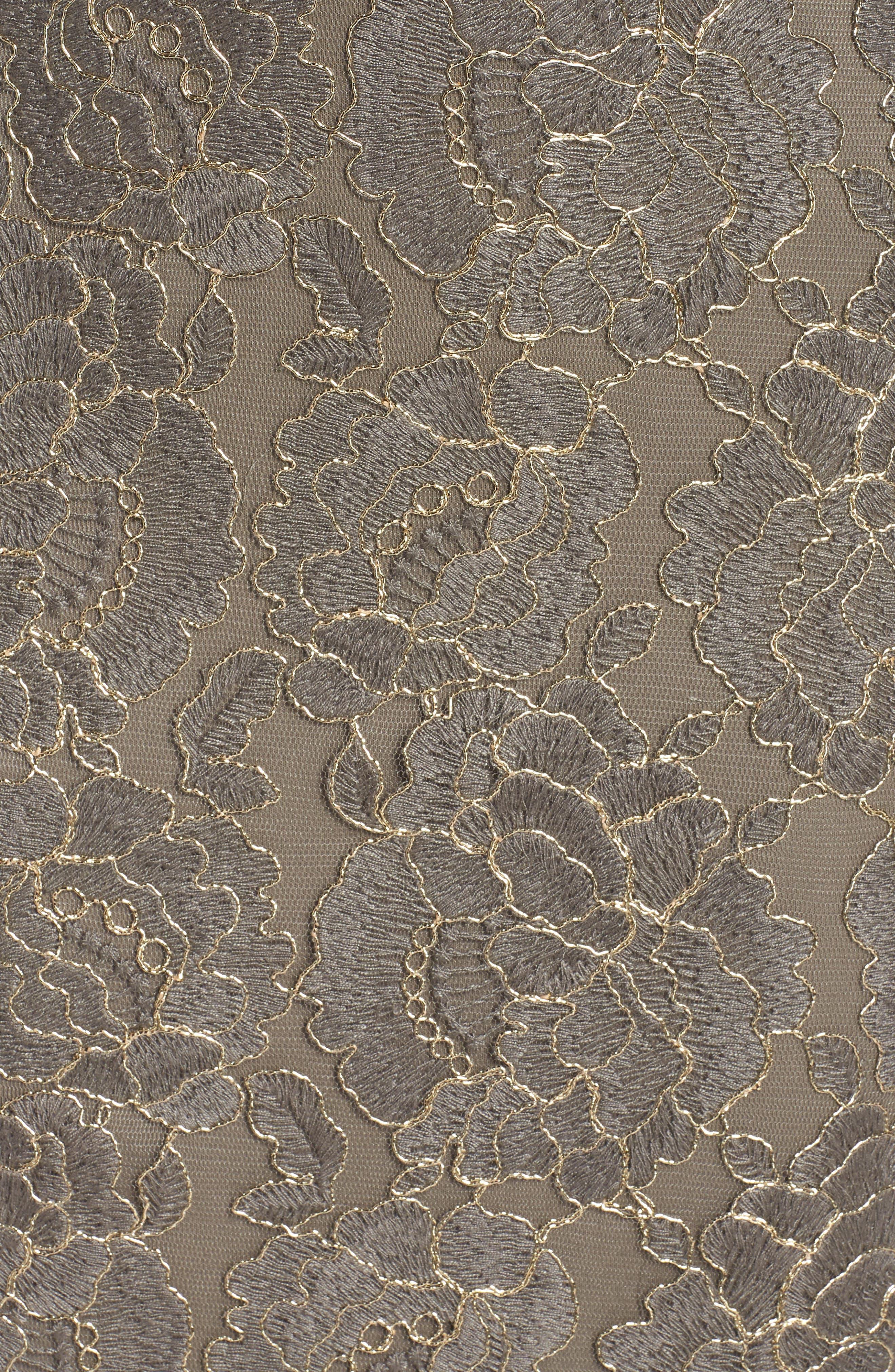 Lace Sheath Dress,                             Alternate thumbnail 6, color,                             020