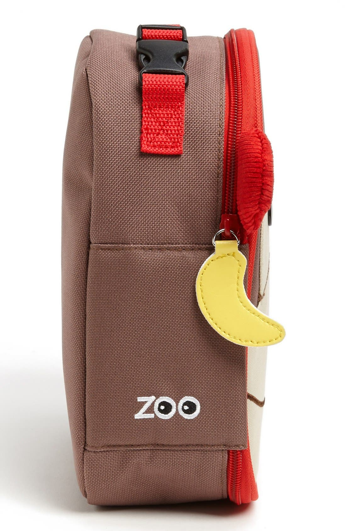 Zoo Lunch Bag,                             Alternate thumbnail 5, color,                             MONKEY