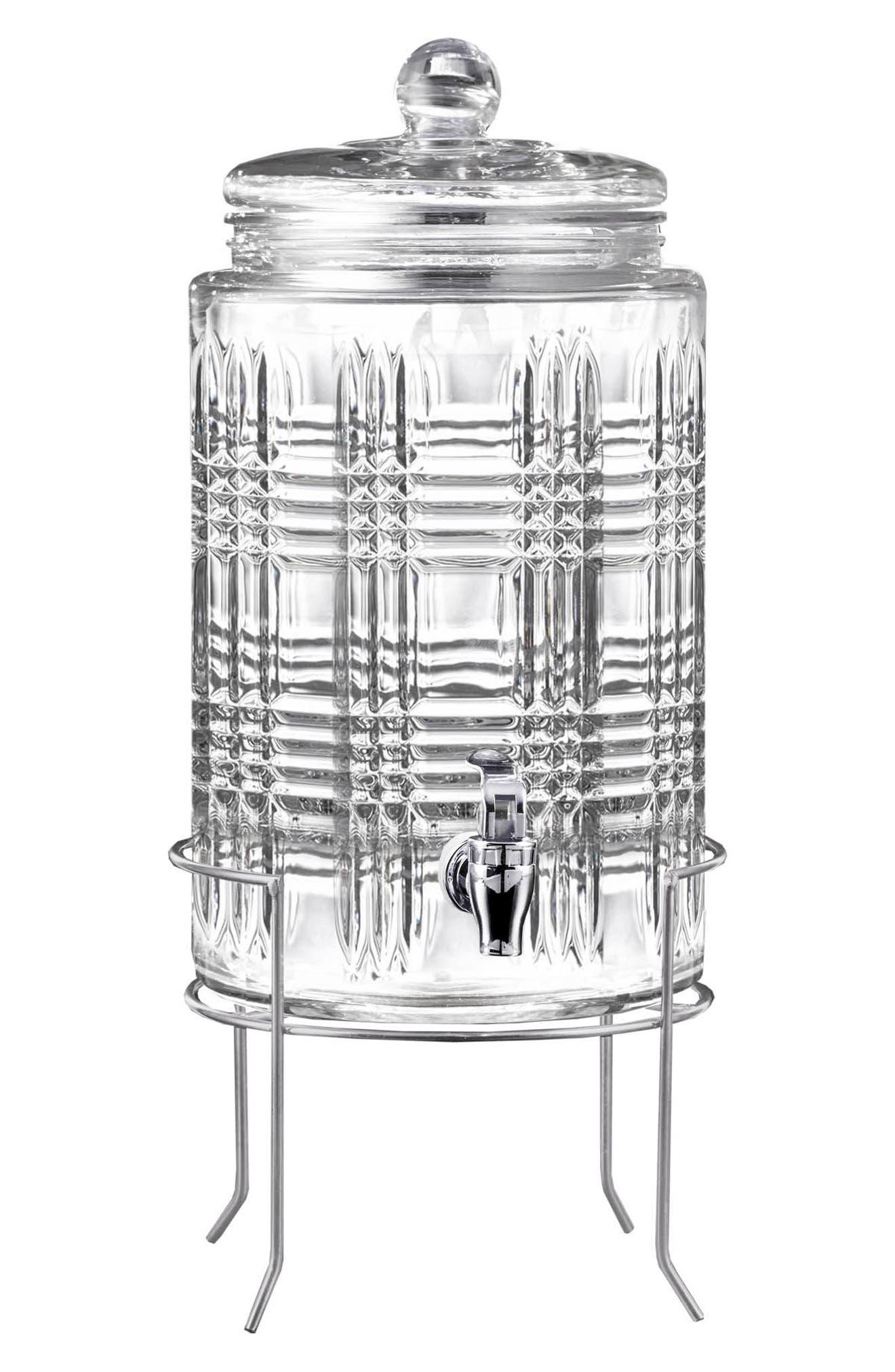 Portland Beverage Dispenser & Stand,                             Main thumbnail 1, color,                             100