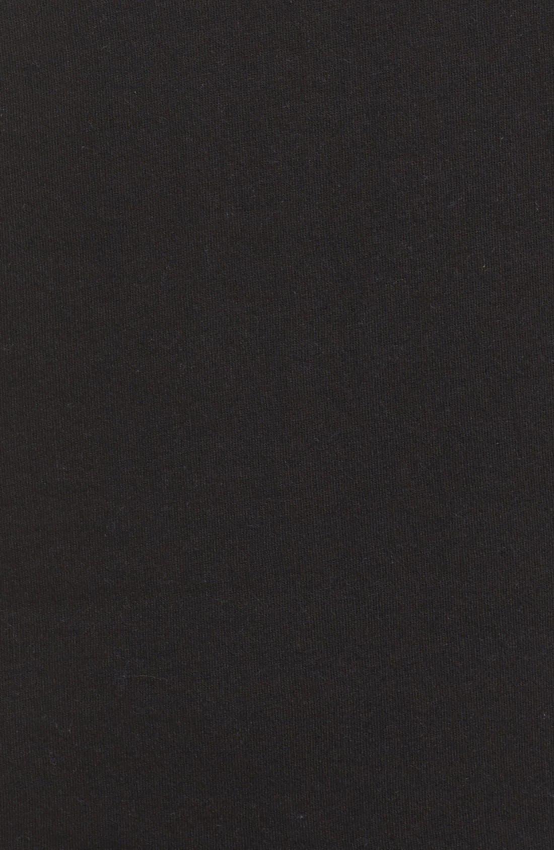 Brunette Crewneck Sweatshirt,                             Alternate thumbnail 7, color,                             001