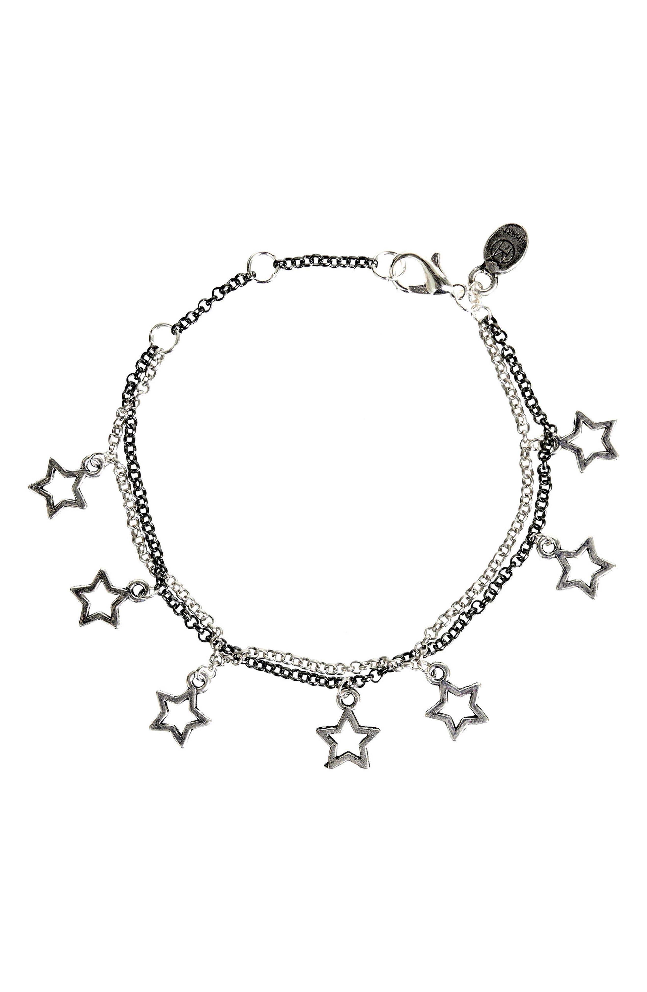 Star Charm Bracelet,                             Main thumbnail 1, color,                             040