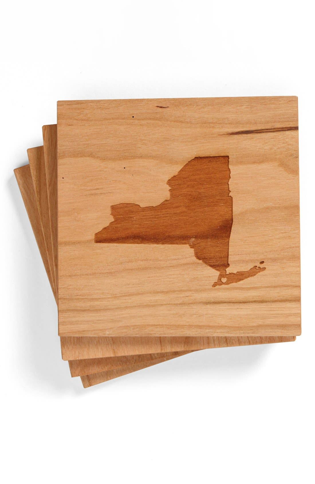 'State Silhouette' Coasters,                             Main thumbnail 11, color,