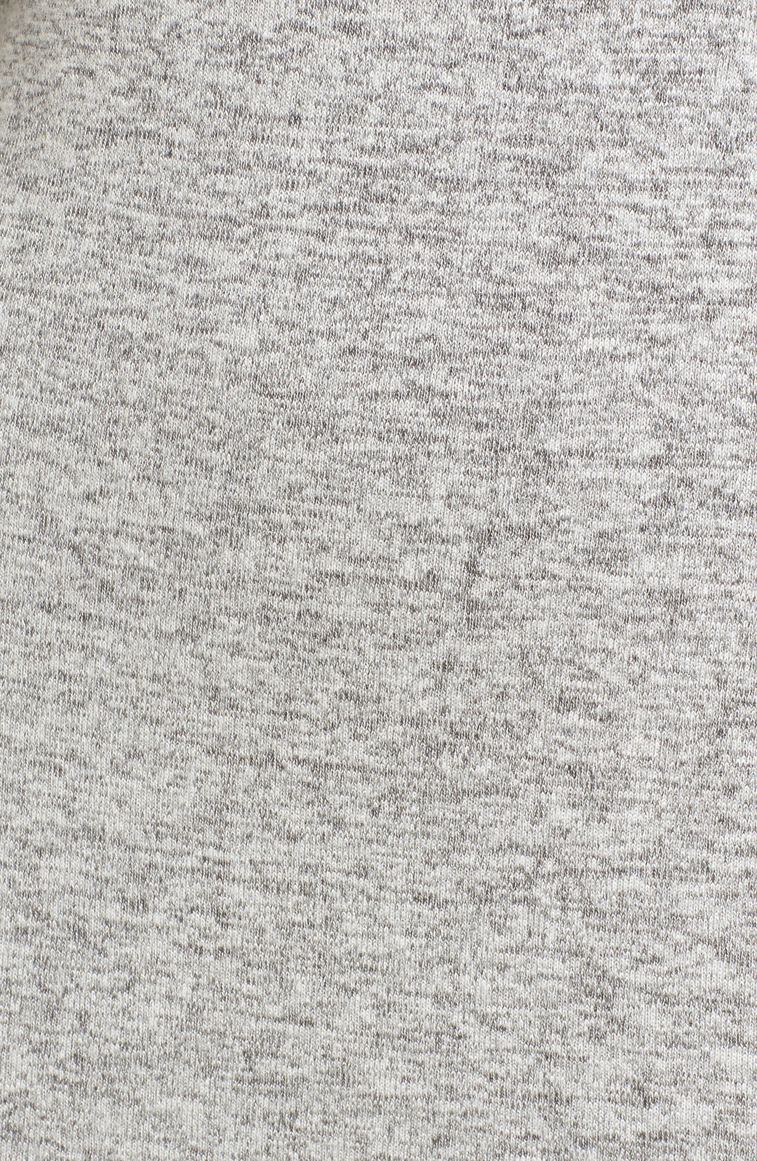Off the Shoulder Sweater Dress,                             Alternate thumbnail 5, color,                             H GREY