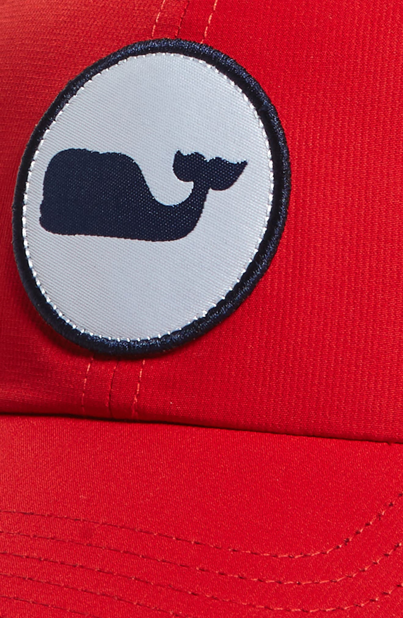 Perf Classic Woven Whale Ball Cap,                             Alternate thumbnail 9, color,