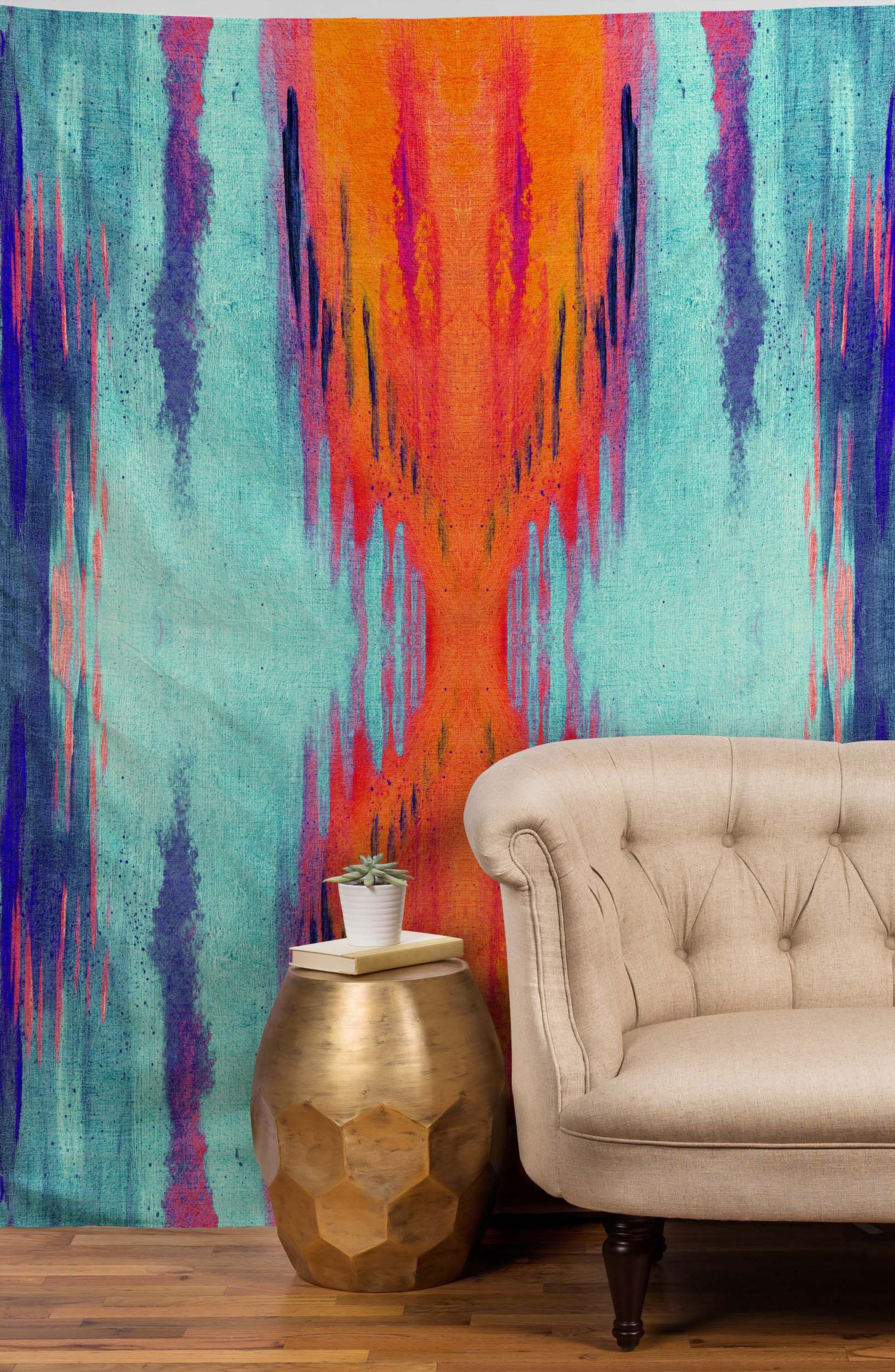 Color Dream Tapestry,                             Alternate thumbnail 2, color,