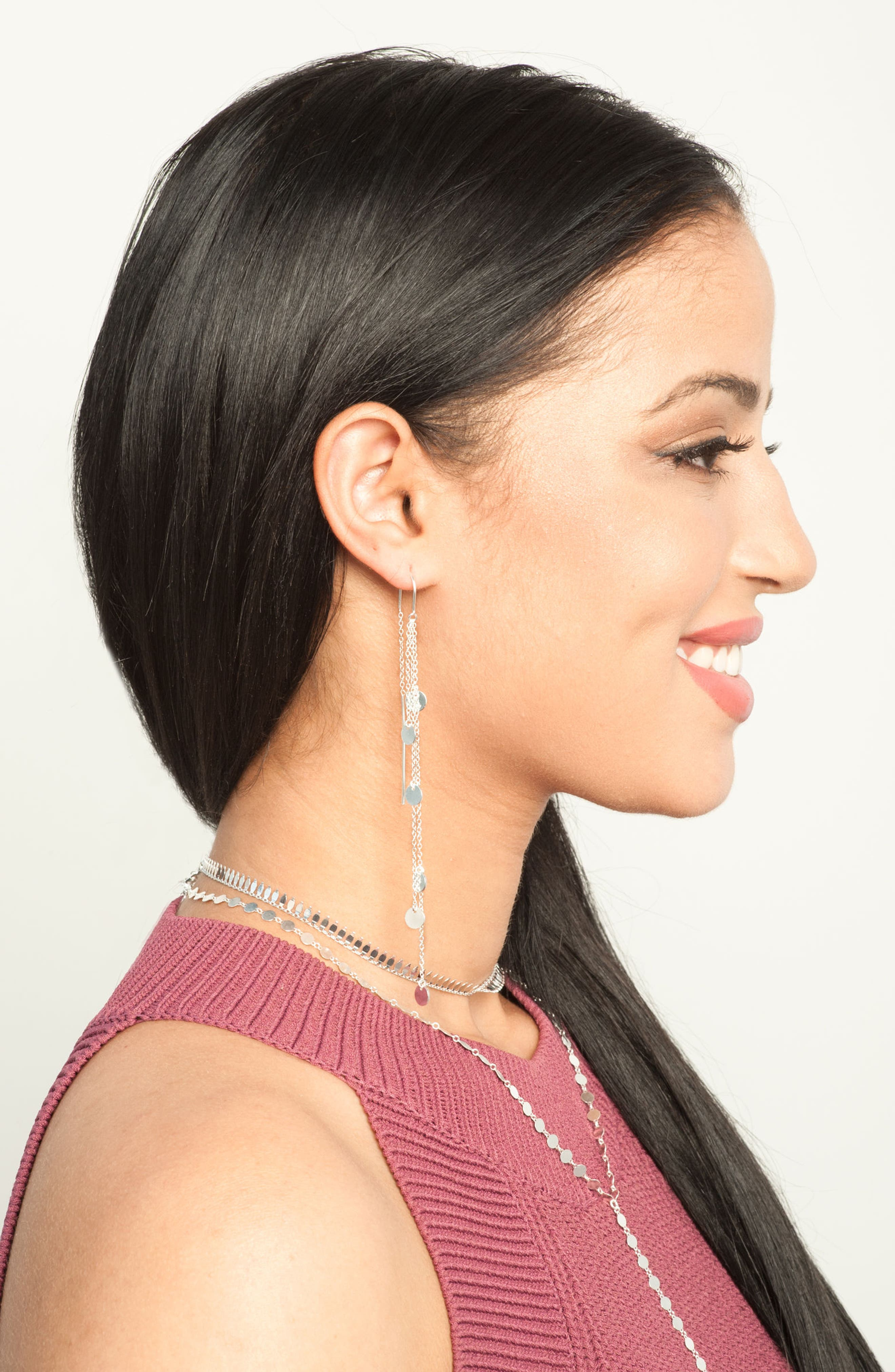 Cascading Drop Earrings,                             Alternate thumbnail 3, color,                             040