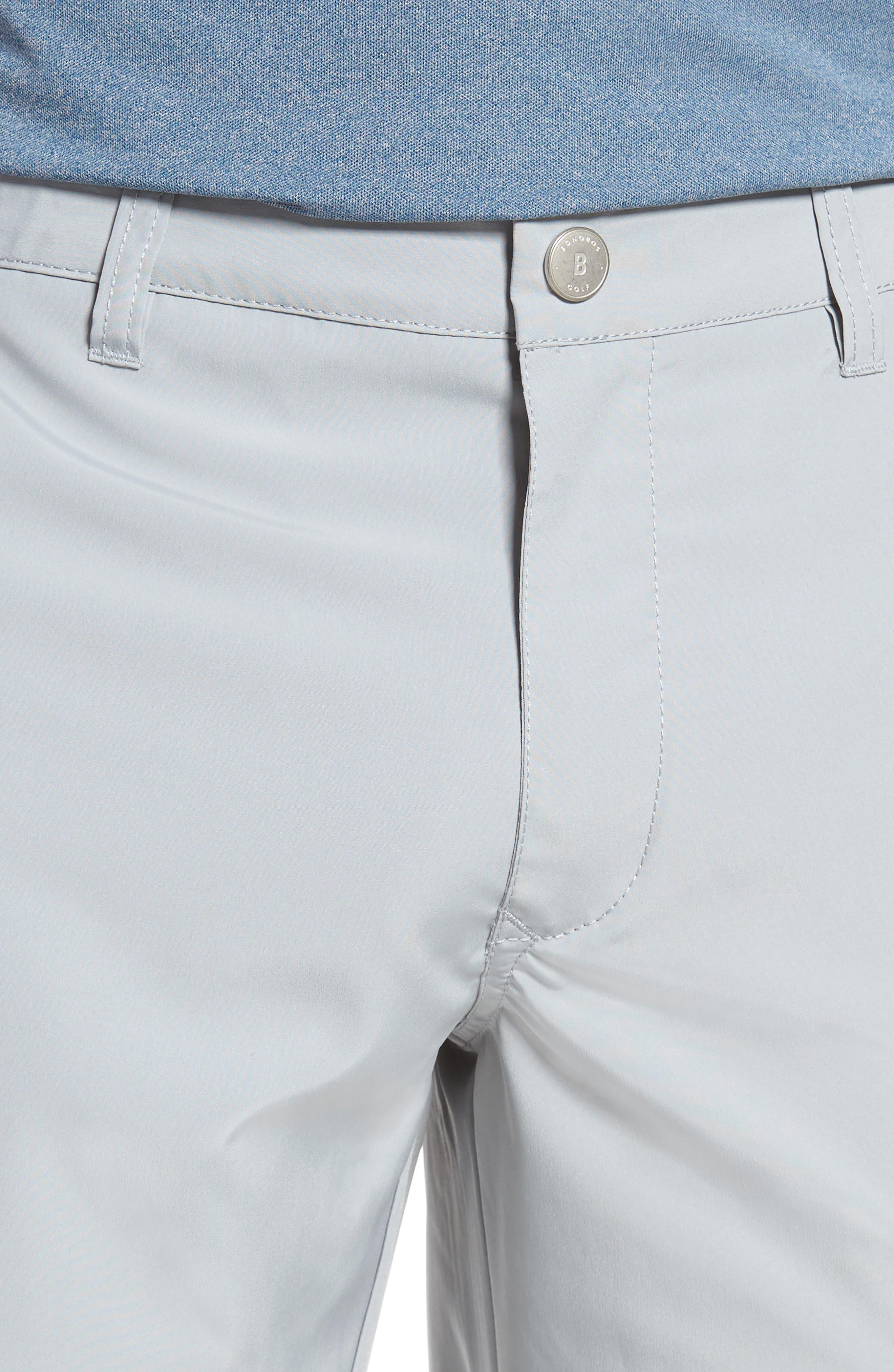 Lightweight Highland Slim Fit Golf Pants,                             Alternate thumbnail 4, color,                             PEWTER