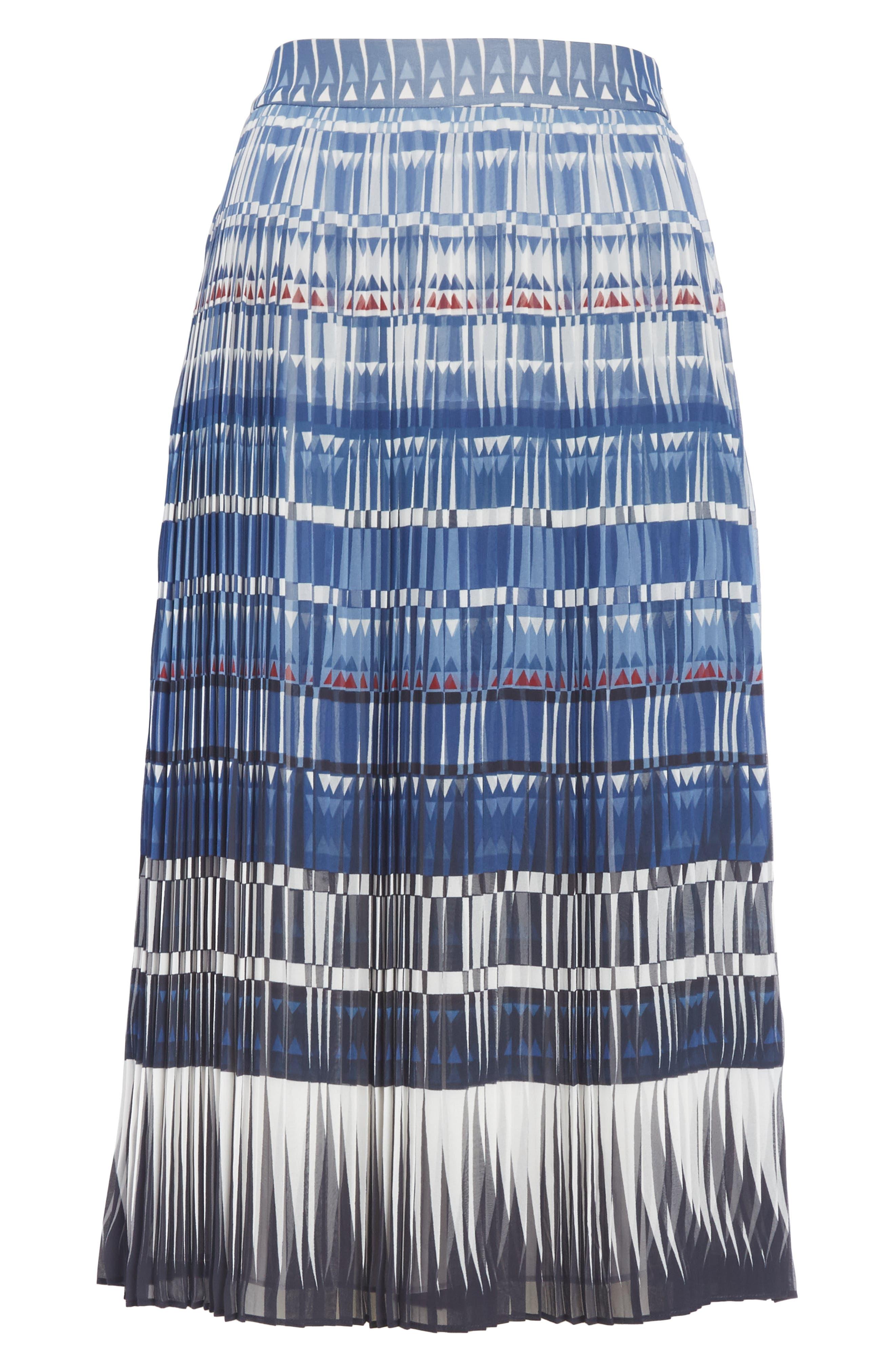 KATE SPADE NEW YORK,                             deco beale skirt,                             Alternate thumbnail 6, color,                             473