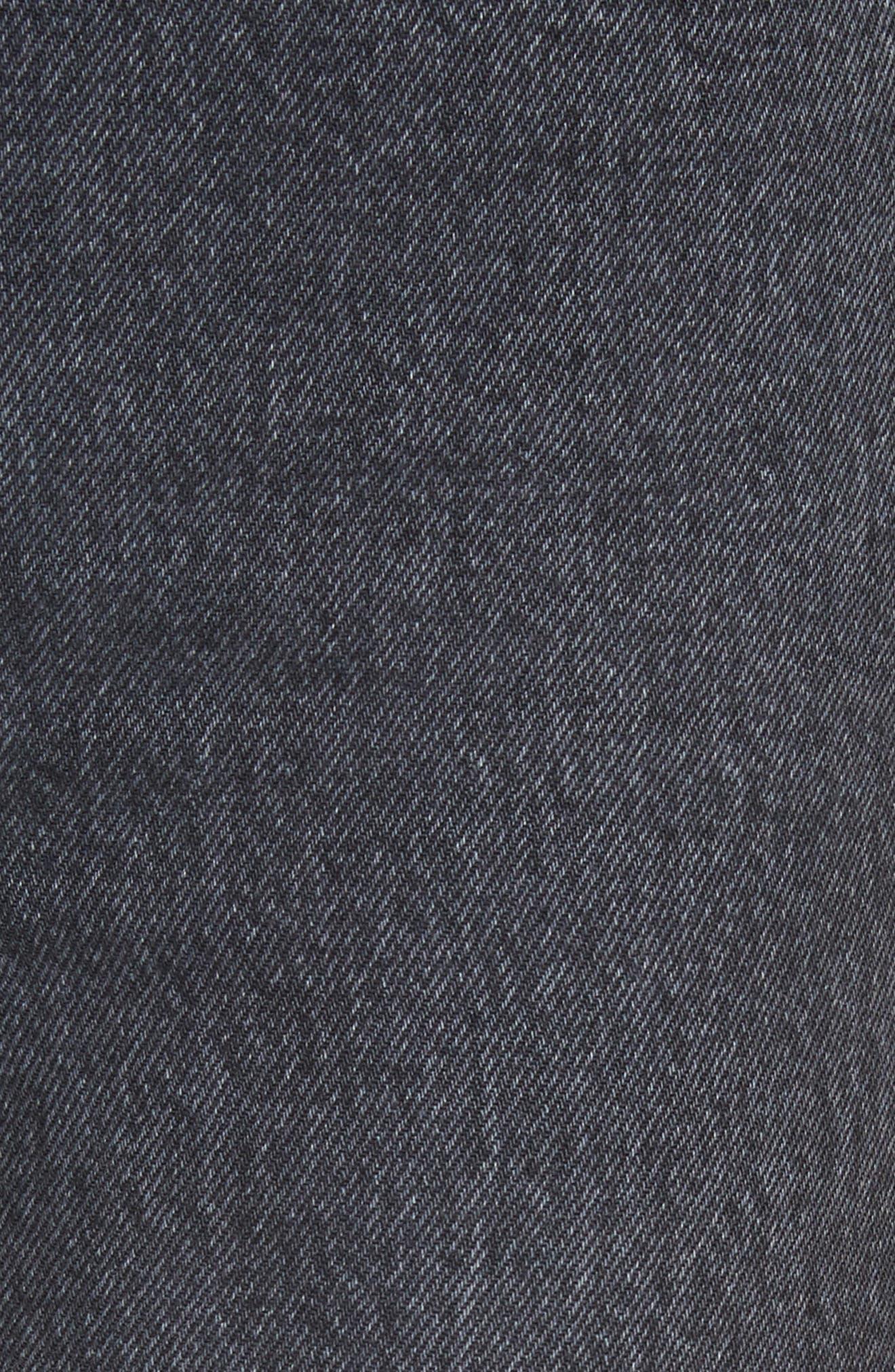 Dylan High Waist Crop Kick Flare Jeans,                             Alternate thumbnail 5, color,                             021
