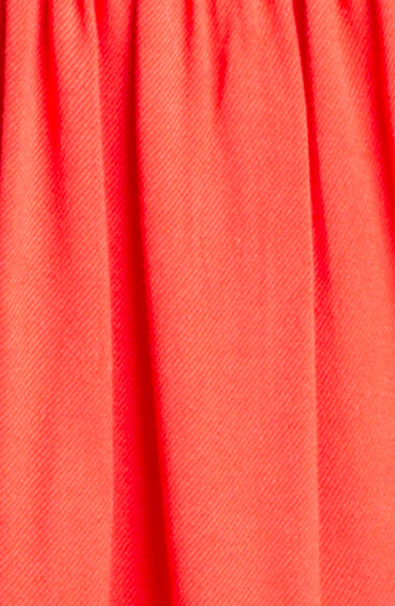 Dahlia Flutter Sleeve Dress,                             Alternate thumbnail 3, color,                             950