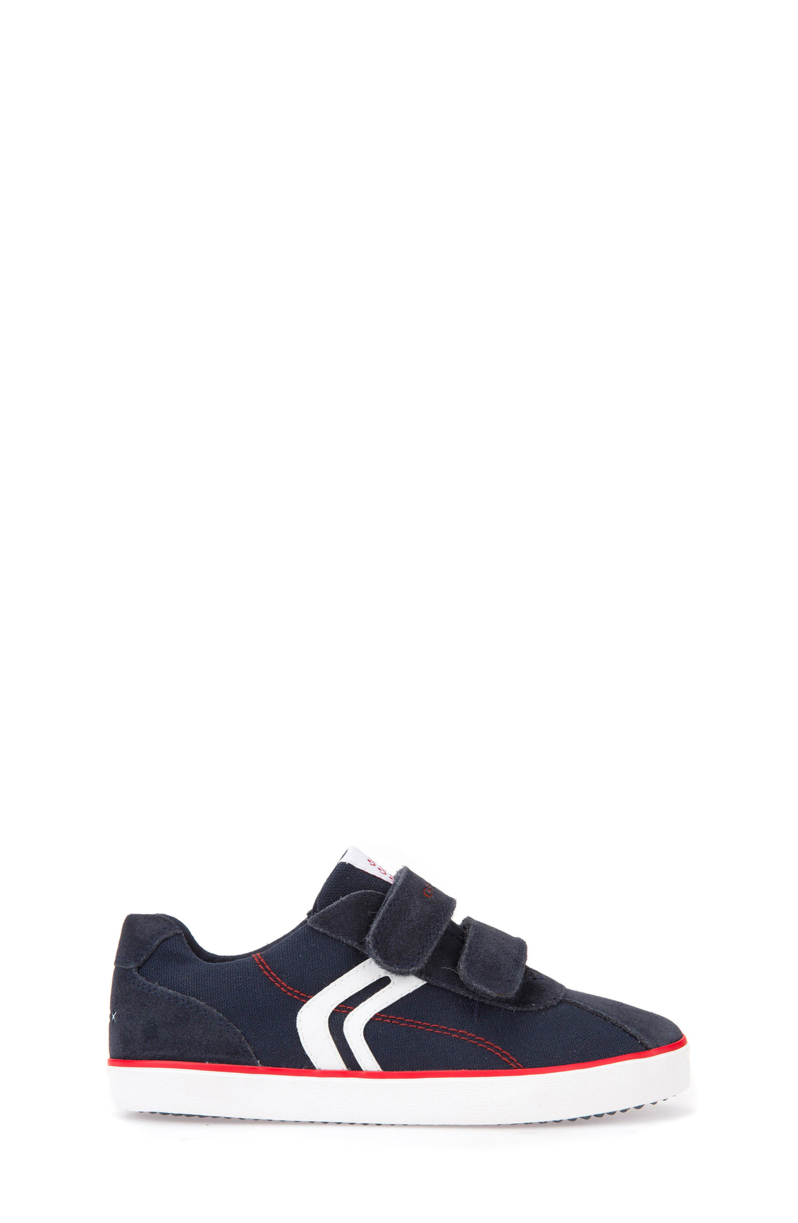 Kilwi Low Top Sneaker,                             Alternate thumbnail 3, color,                             NAVY/ RED
