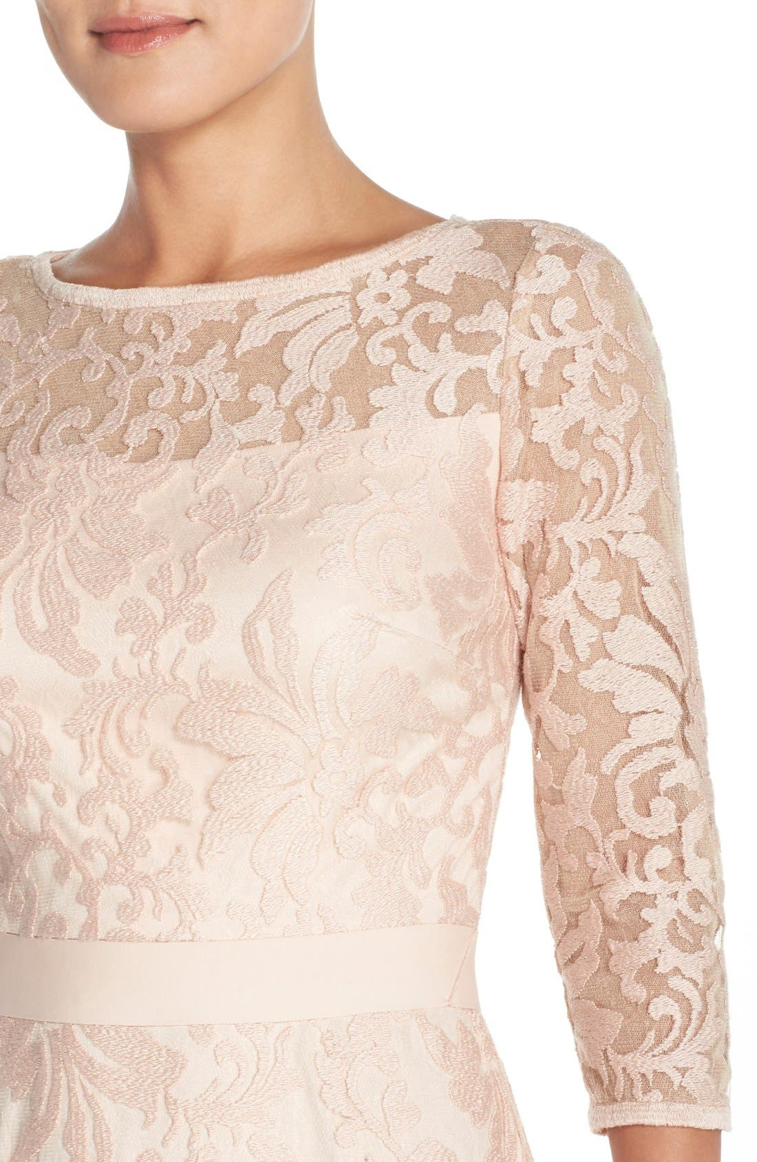 Lace Overlay Dress,                             Alternate thumbnail 25, color,