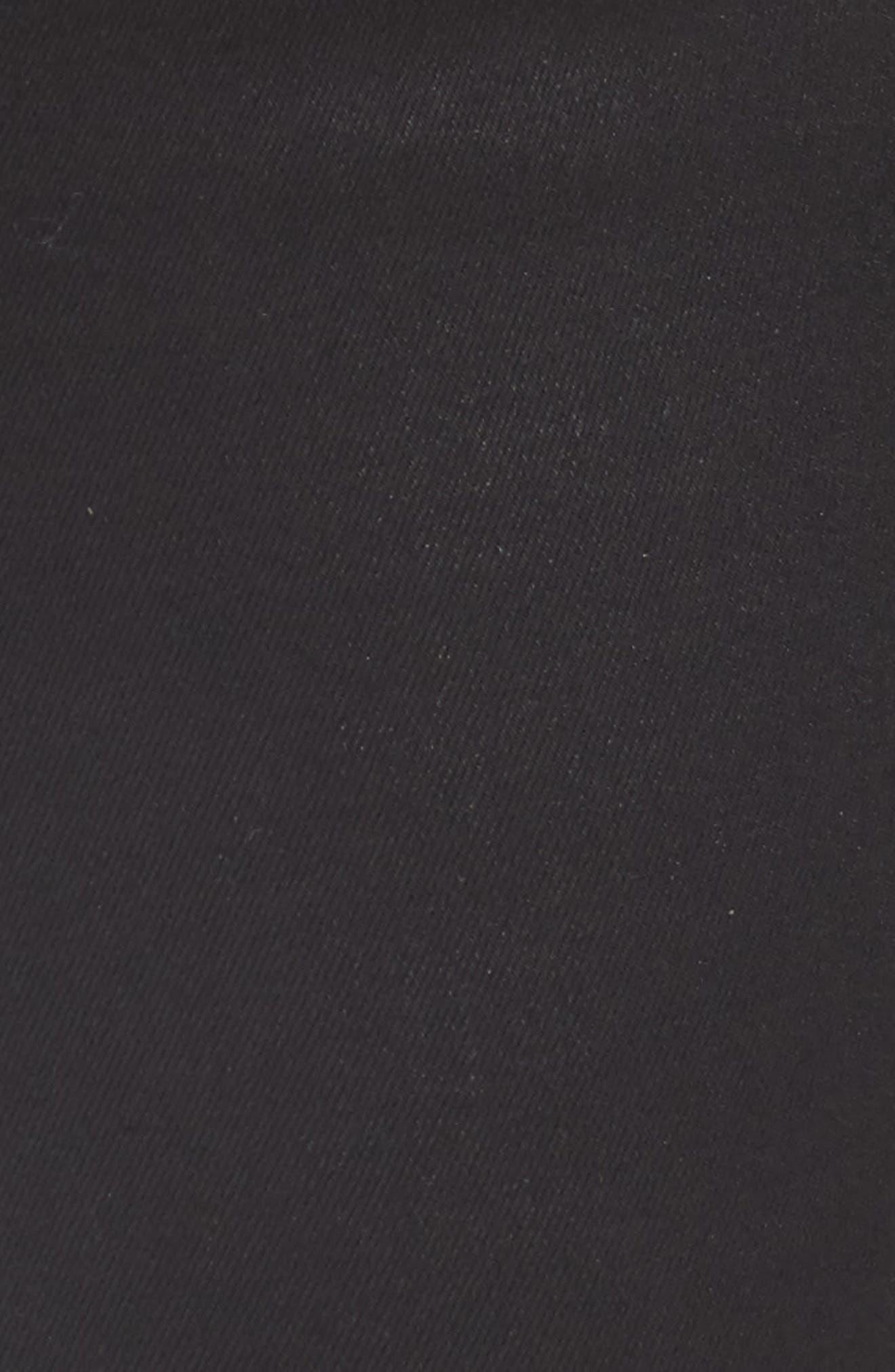 Black Jack Lace-Up Skinny Jeans,                             Alternate thumbnail 5, color,