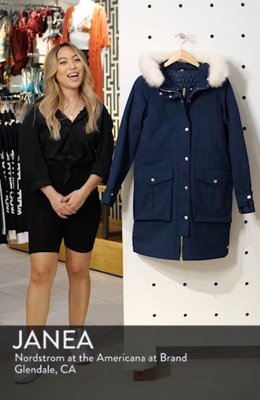 Highlands Three-In-One Faux Fur & Faux Shearling Coat, sales video thumbnail