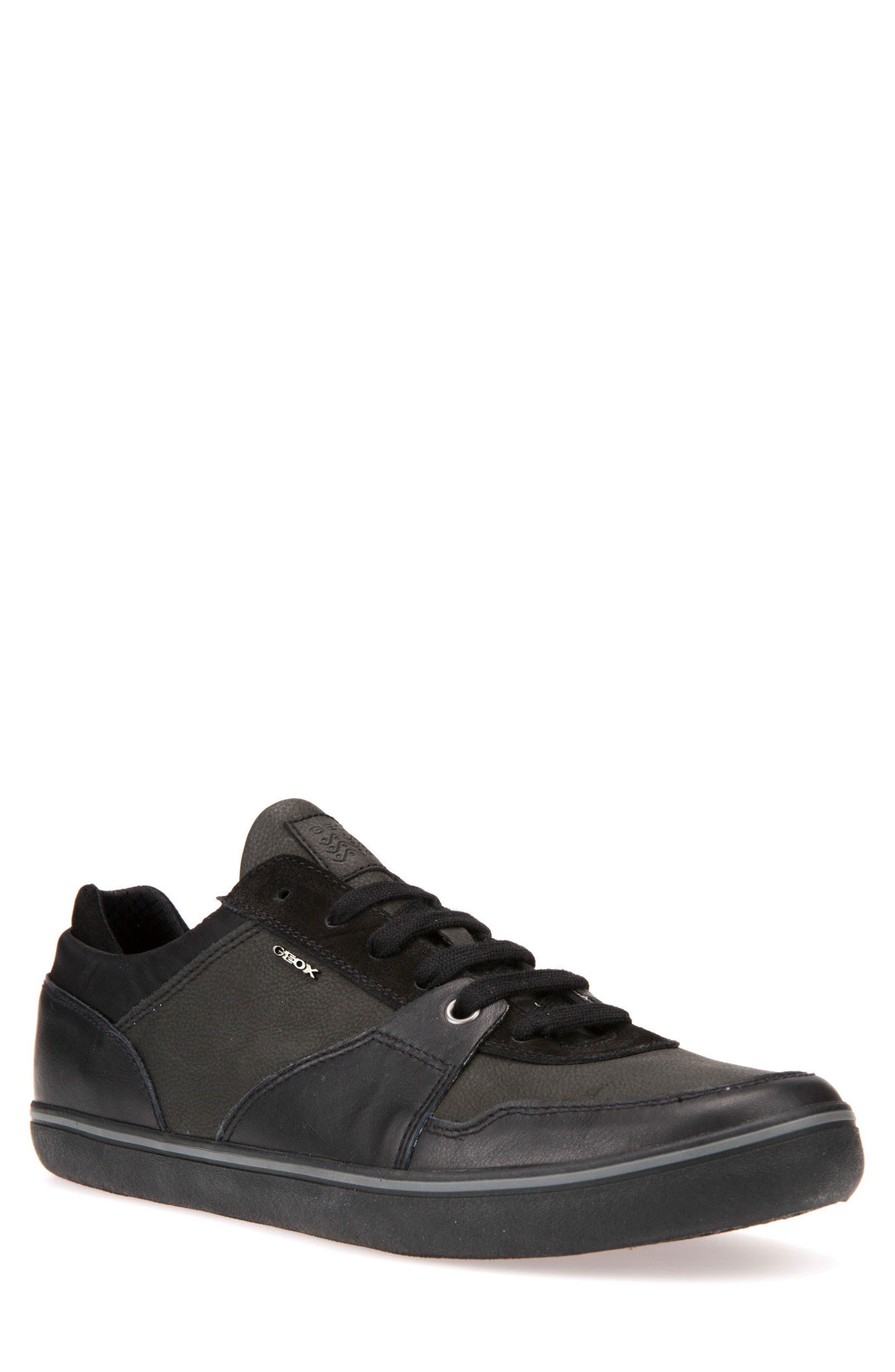 Box 28 Low-Profile Sneaker,                             Main thumbnail 1, color,                             BLACK