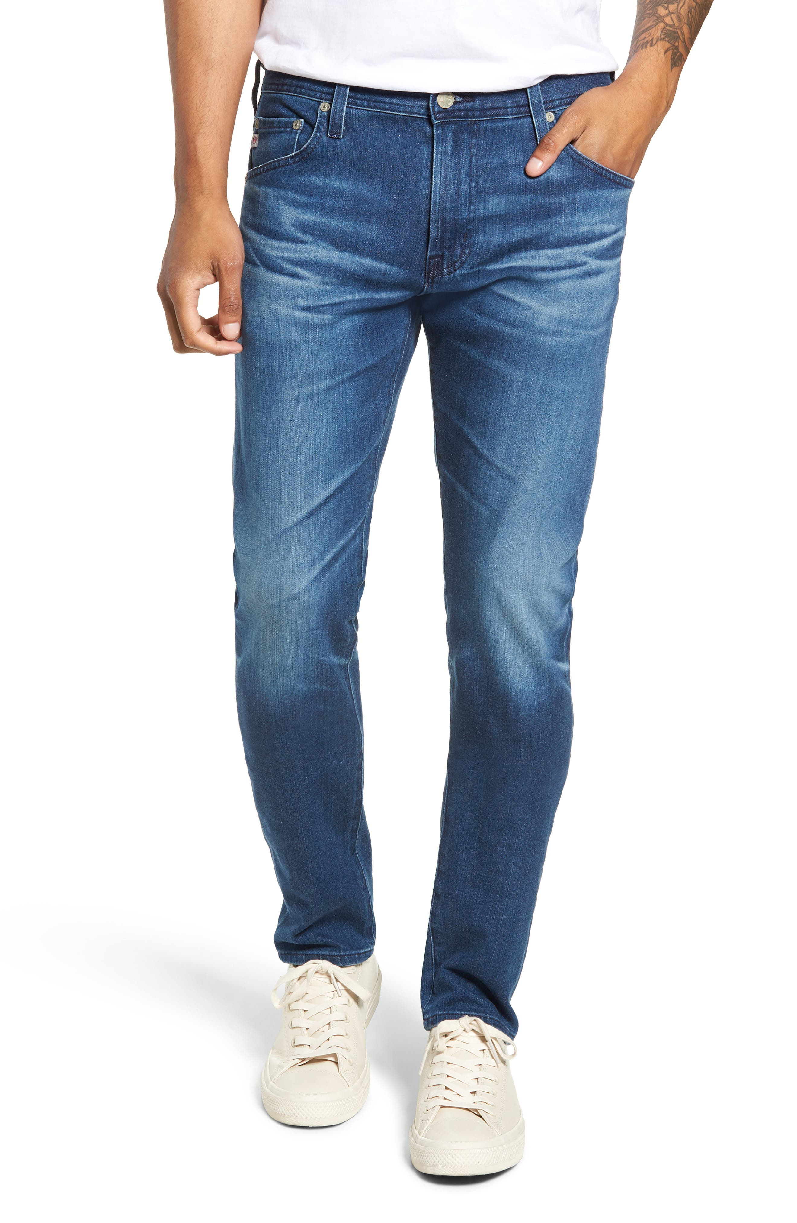 Dylan Skinny Fit Jeans,                             Main thumbnail 1, color,                             437