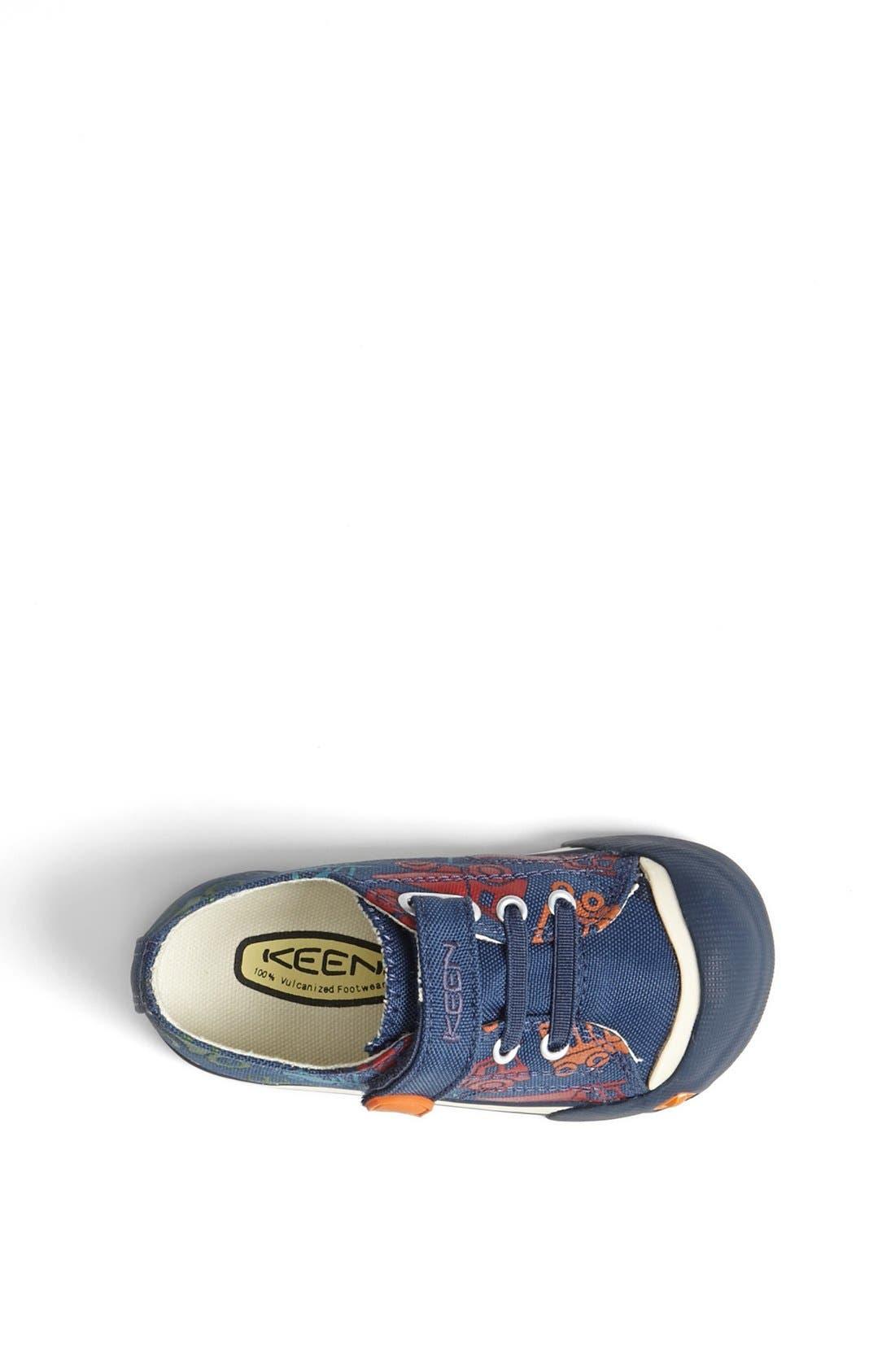 'Coronado' Print Vegan Sneaker,                             Alternate thumbnail 4, color,                             403