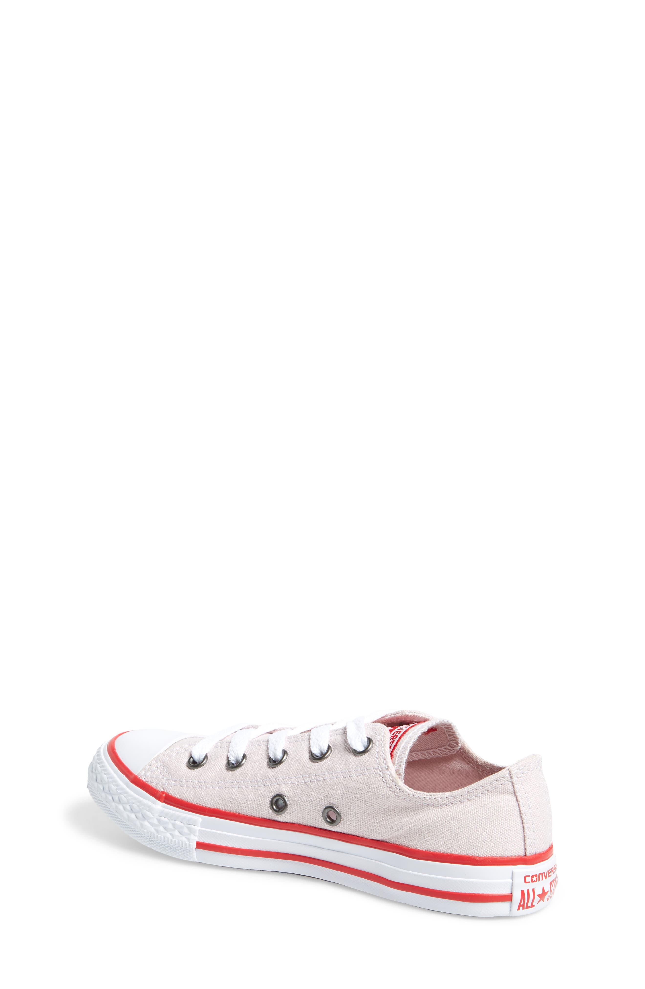 Chuck Taylor<sup>®</sup> All Star<sup>®</sup> Low Top Sneaker,                             Alternate thumbnail 4, color,