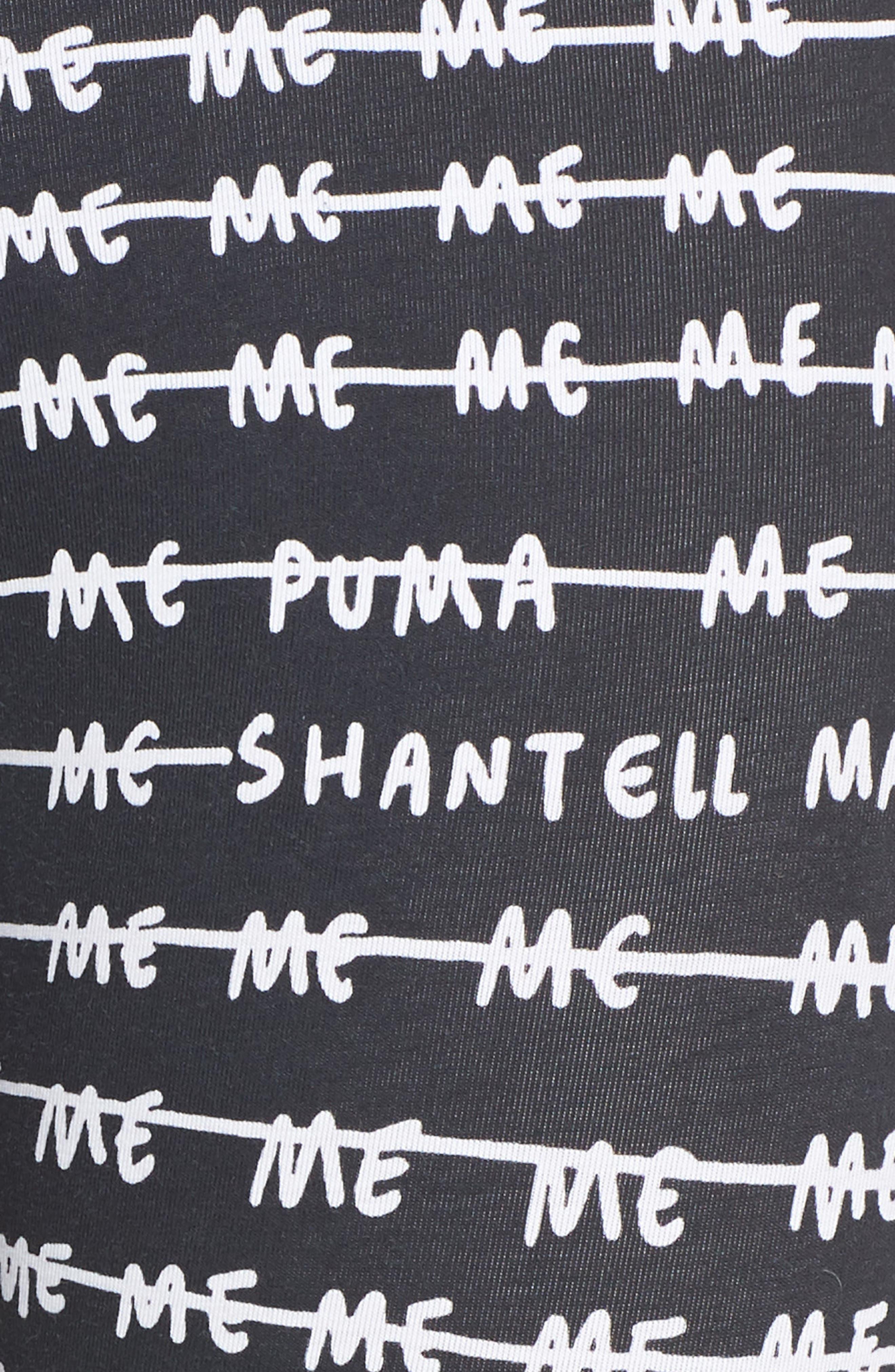 x Shantell Martin Leggings,                             Alternate thumbnail 6, color,                             002