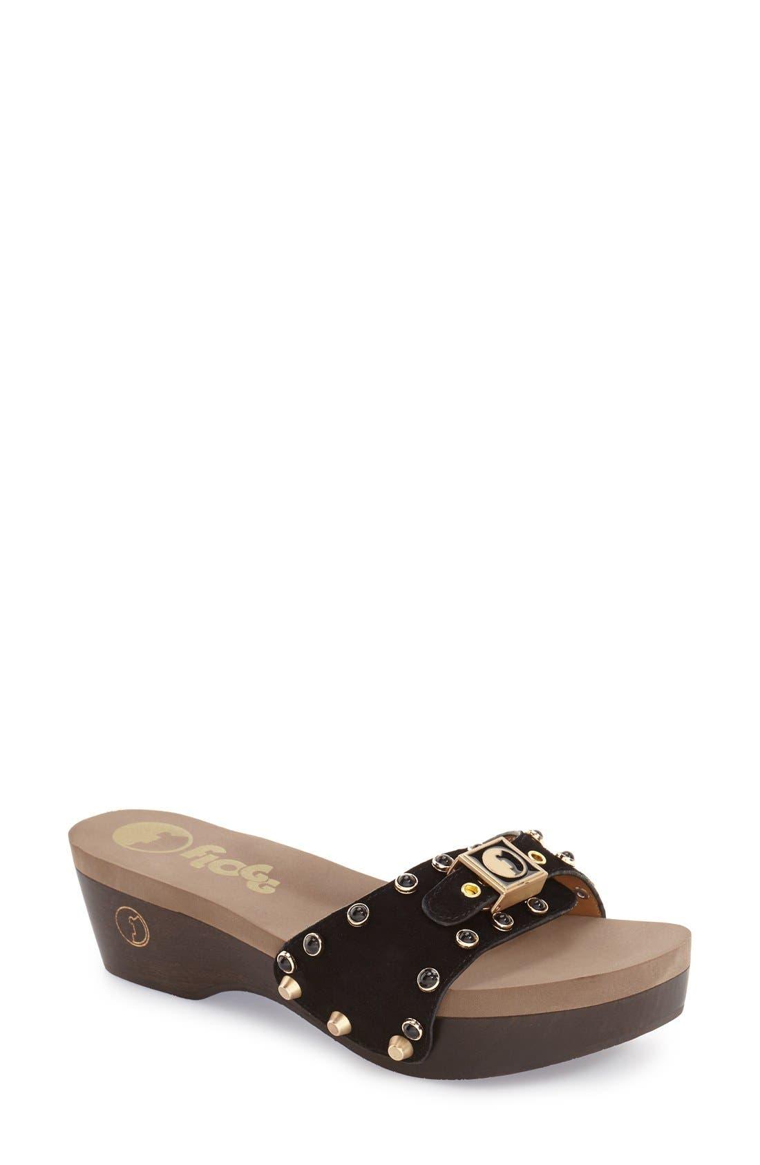 FLOGG 'Molly' Slide Sandal, Main, color, 001
