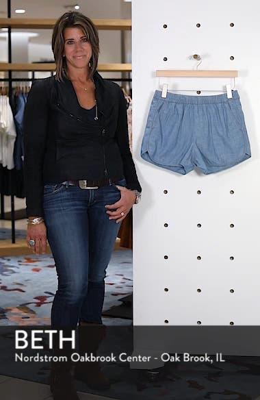 Chambray Pull-On Shorts, sales video thumbnail