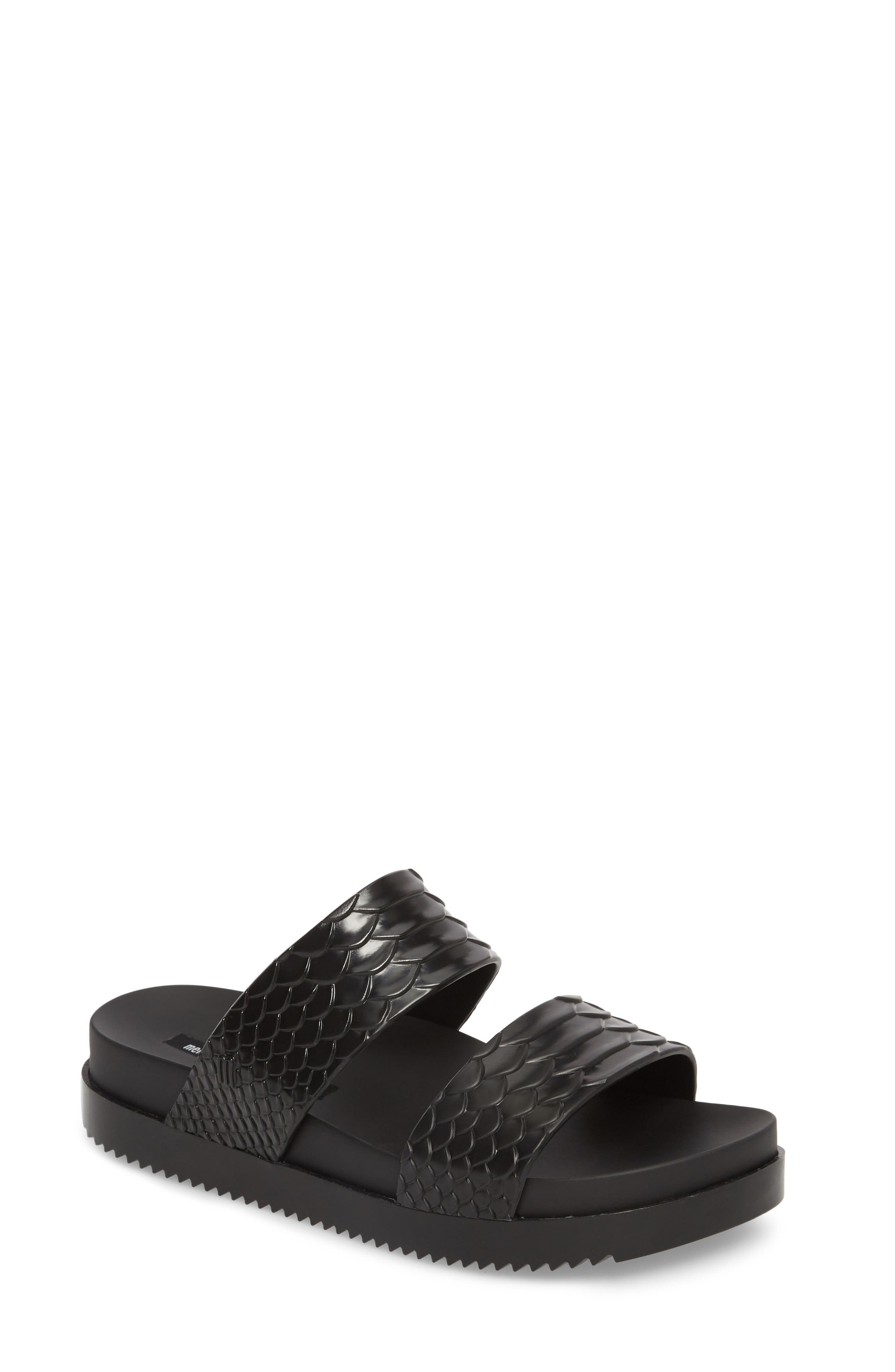 Cosmic Python Baja Slide Sandal,                         Main,                         color, 001