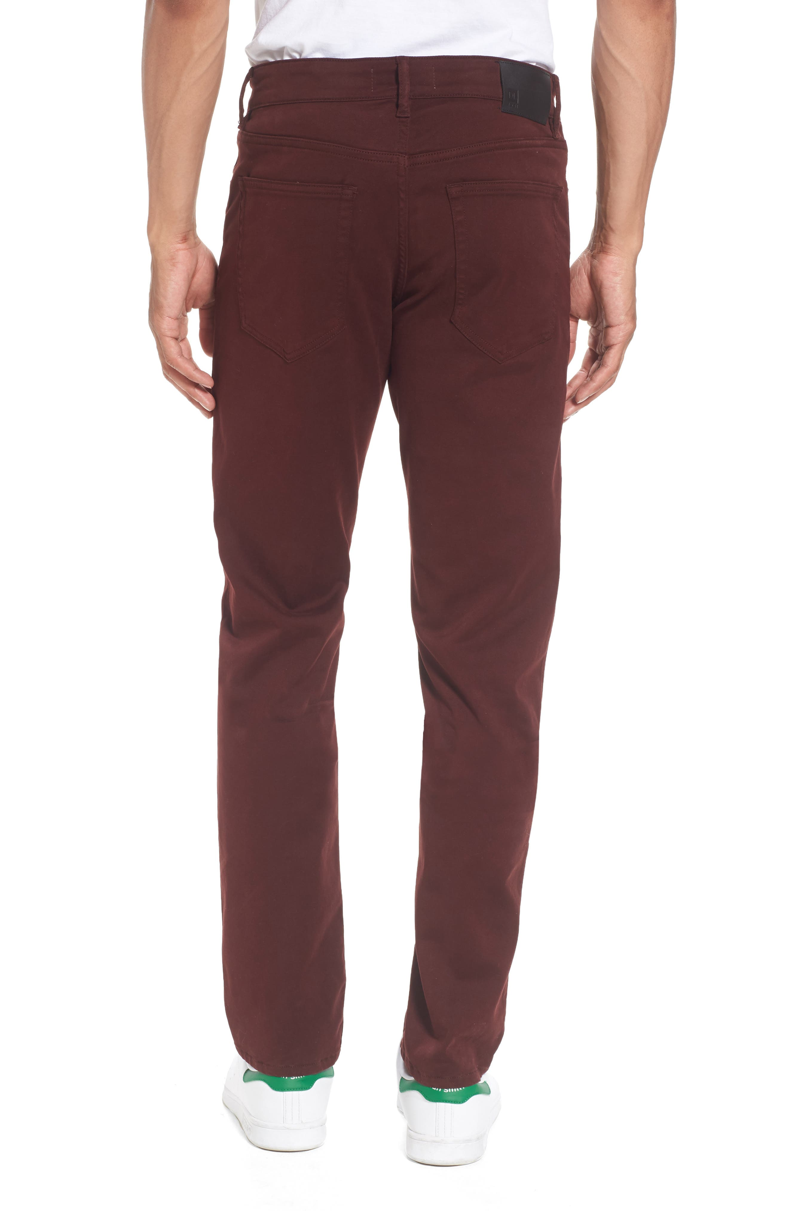 Russell Slim Fit Sateen Twill Pants,                             Alternate thumbnail 22, color,