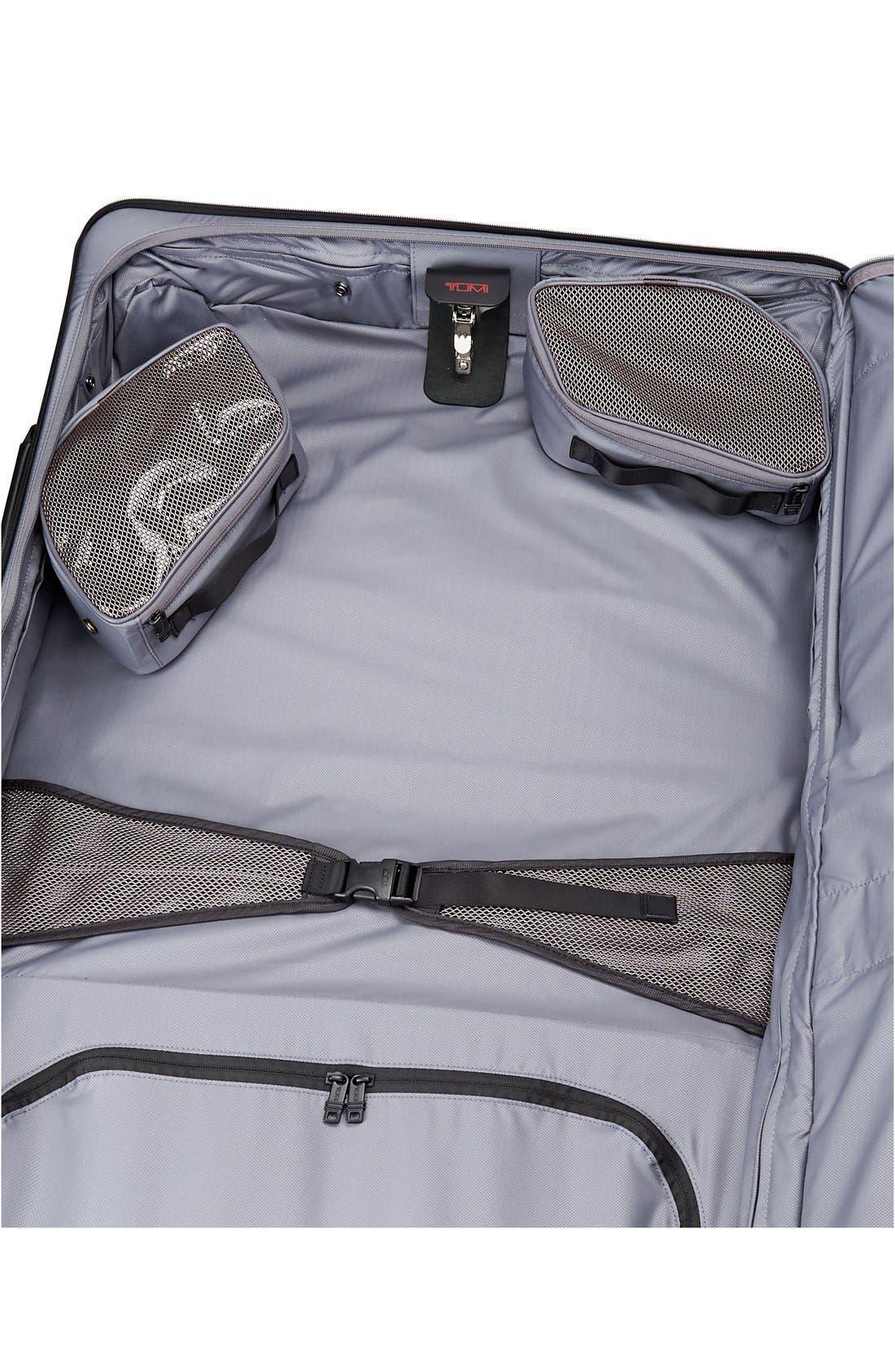 Alpha 2 Medium Trip Wheeled Garment Bag,                             Alternate thumbnail 5, color,                             BLACK