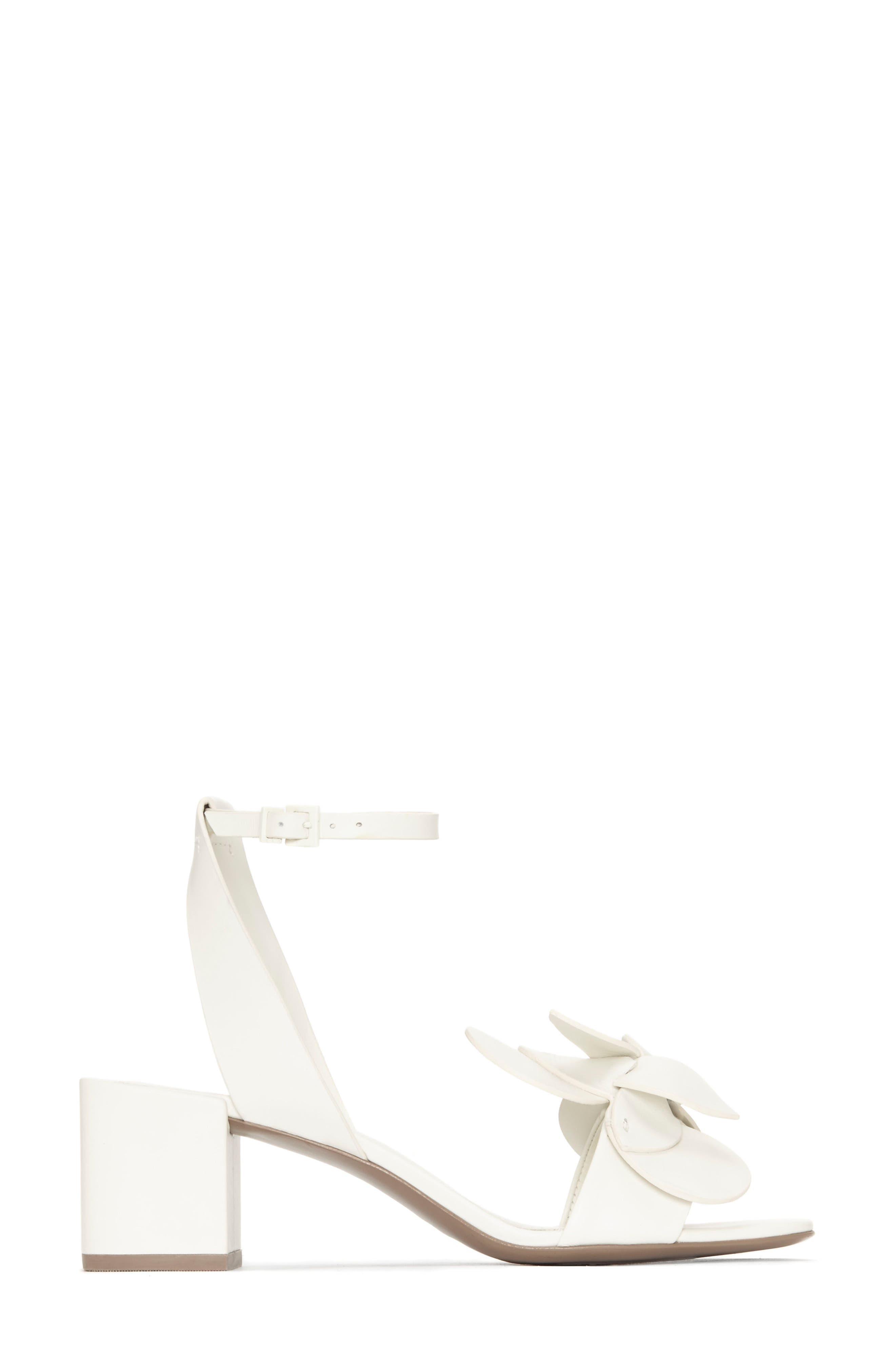 Tealia Sculpted Floral Sandal,                             Alternate thumbnail 3, color,