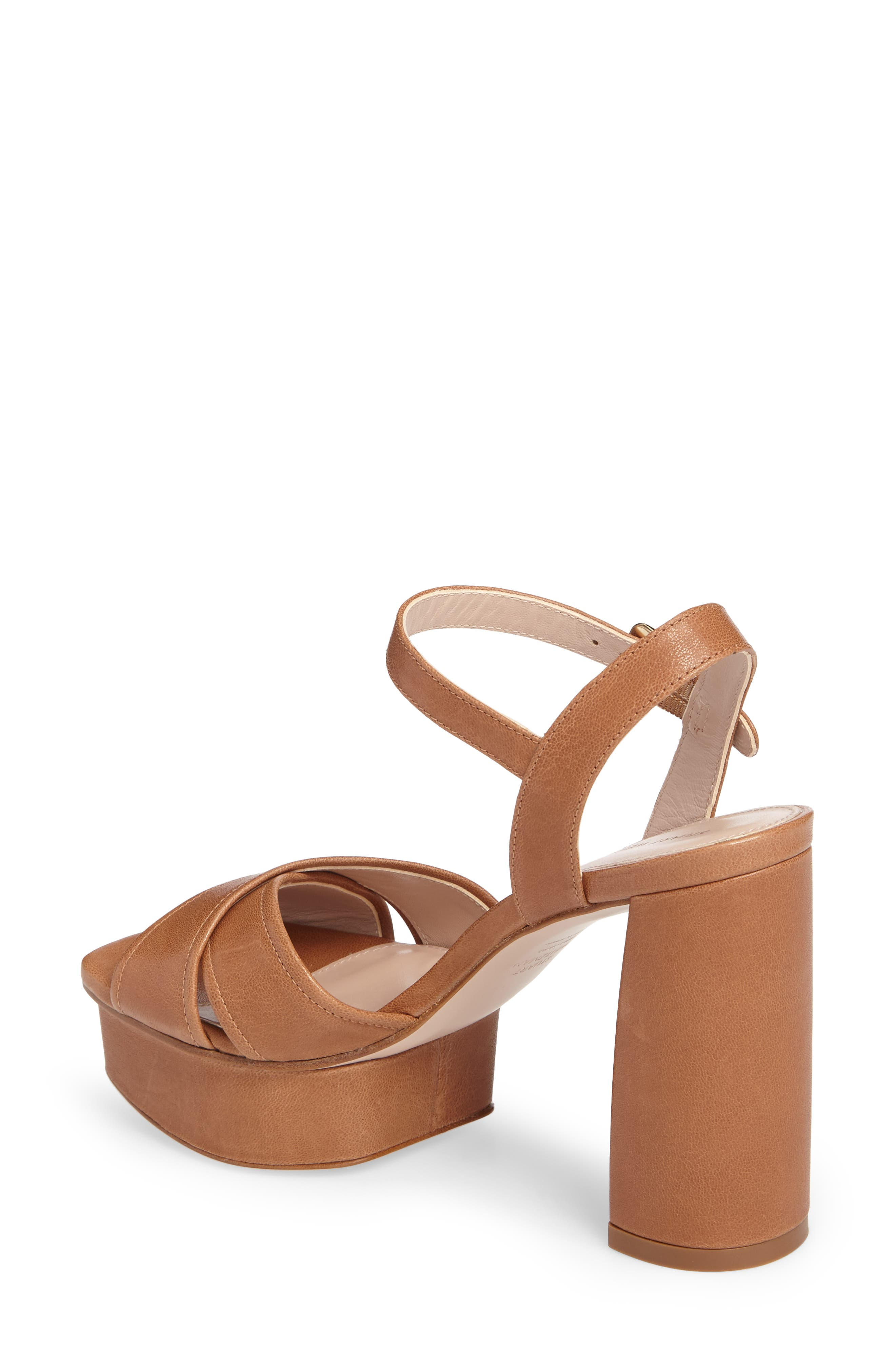 Exposed Platform Sandal,                             Alternate thumbnail 9, color,