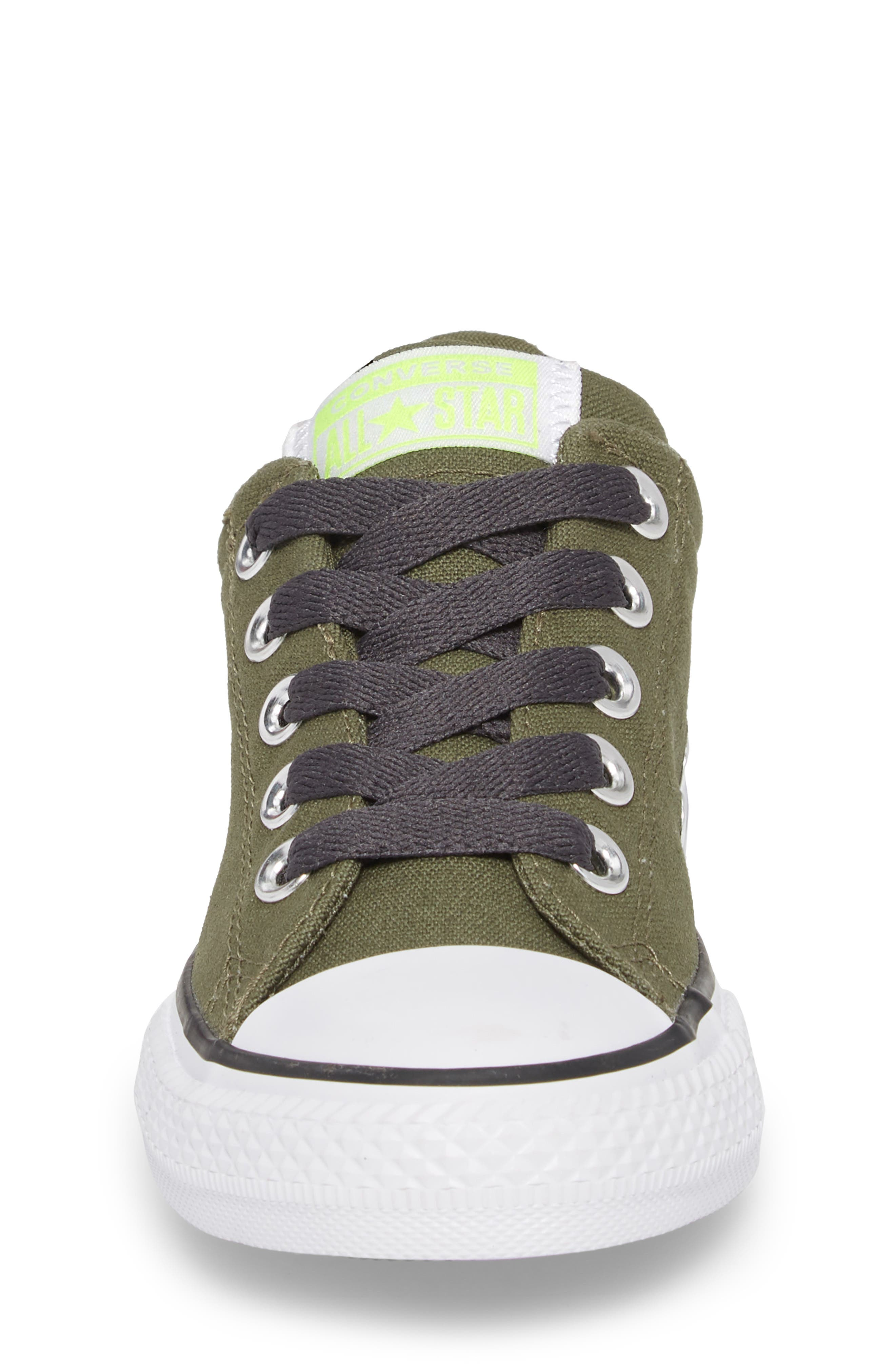 Chuck Taylor<sup>®</sup> All Star<sup>®</sup> Street Slip Low Top Sneaker,                             Alternate thumbnail 4, color,                             322