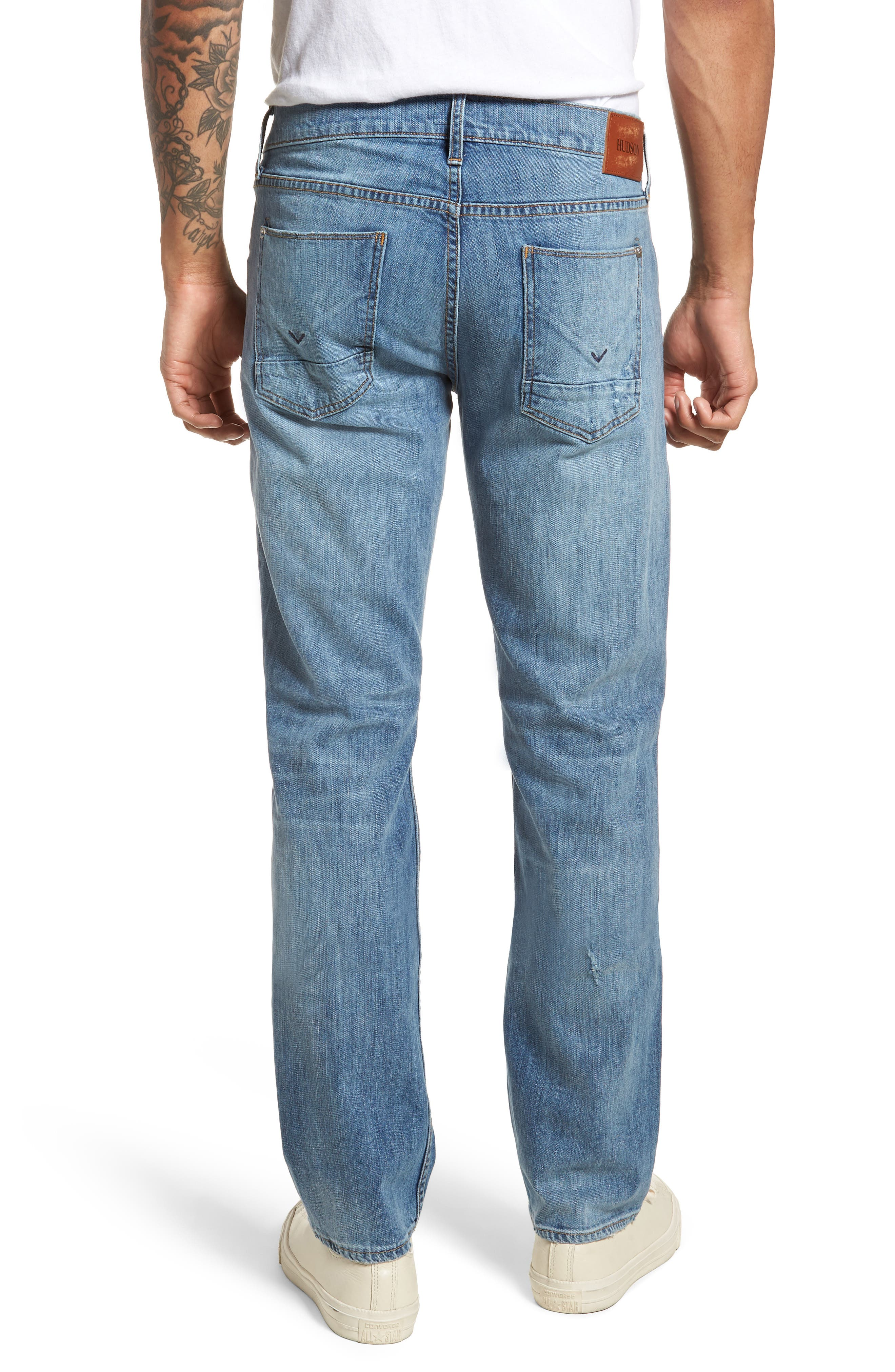 Byron Slim Straight Fit Jeans,                             Alternate thumbnail 2, color,                             425