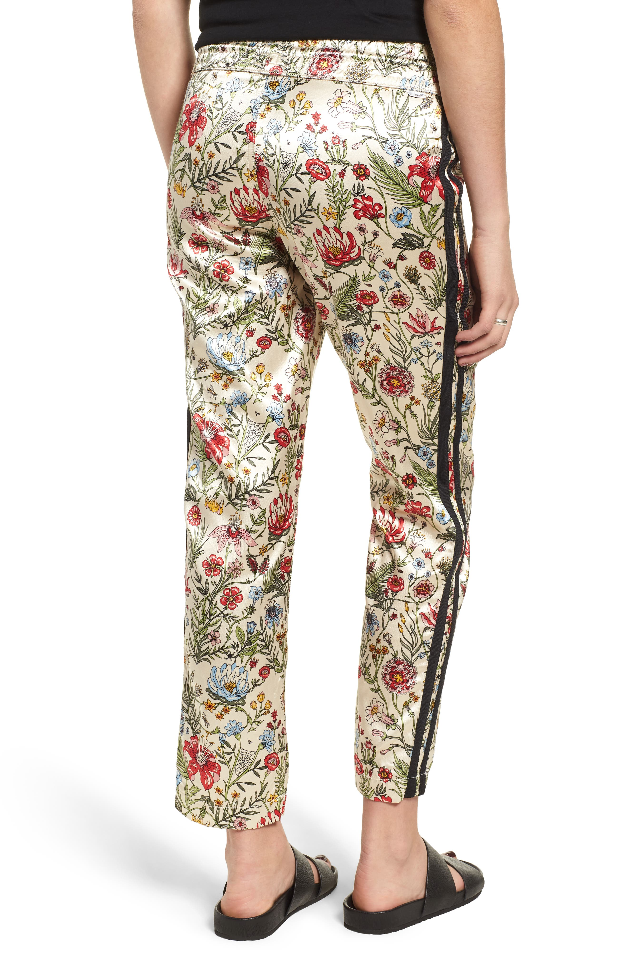 MOTHER,                             The Lounger Satin Ankle Pants,                             Alternate thumbnail 2, color,                             659
