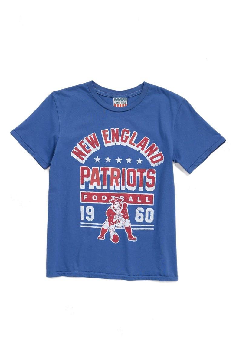b4e7722a7 Junk Food  New England Patriots - NFL  Graphic T-Shirt (Little Boys ...