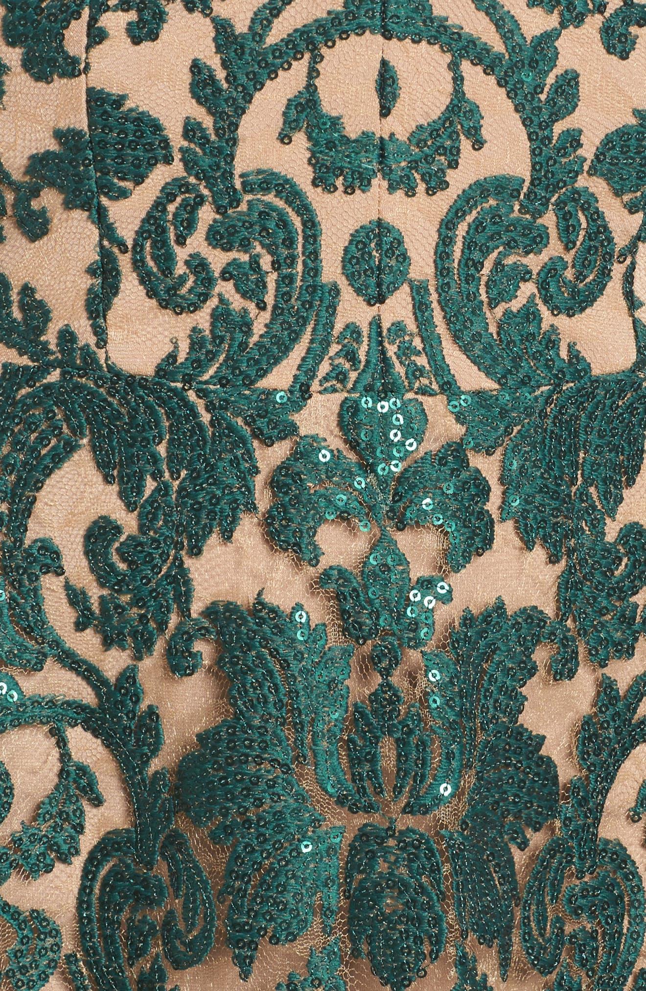 Blair Embellished Fit & Flare Dress,                             Alternate thumbnail 39, color,