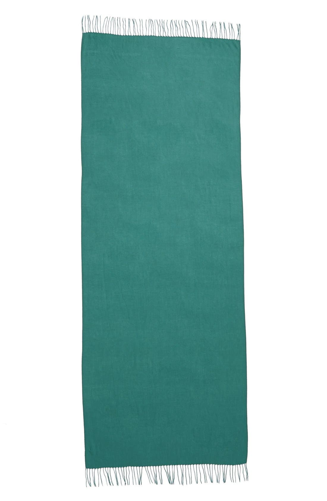 Tissue Weight Wool & Cashmere Scarf,                             Alternate thumbnail 181, color,